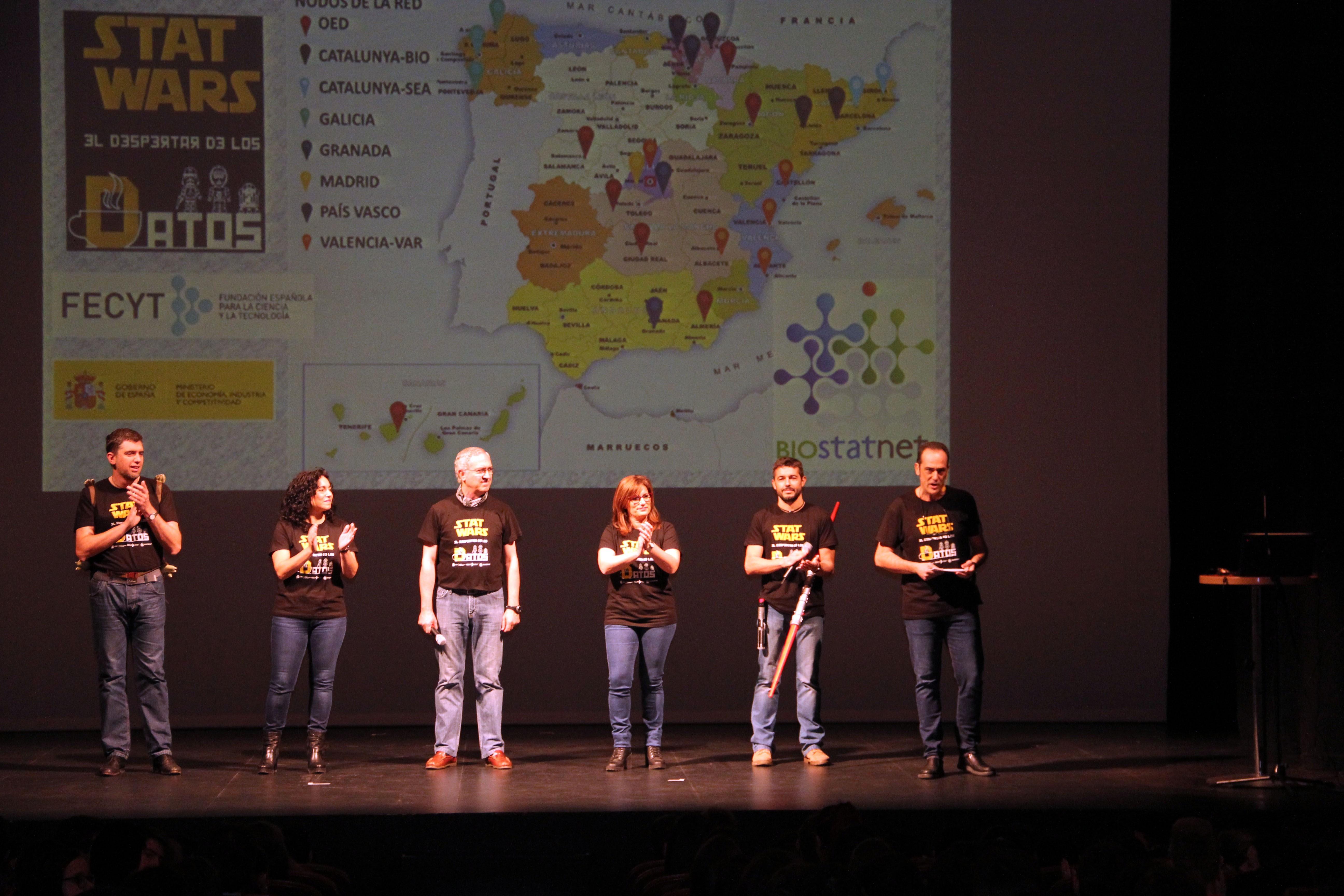 Más de 700 alumnos de ESO y Bachillerato participan en la actividad de divulgación de la estadística 'Stat Wars', coorganizada por la Universidad de Salamanca
