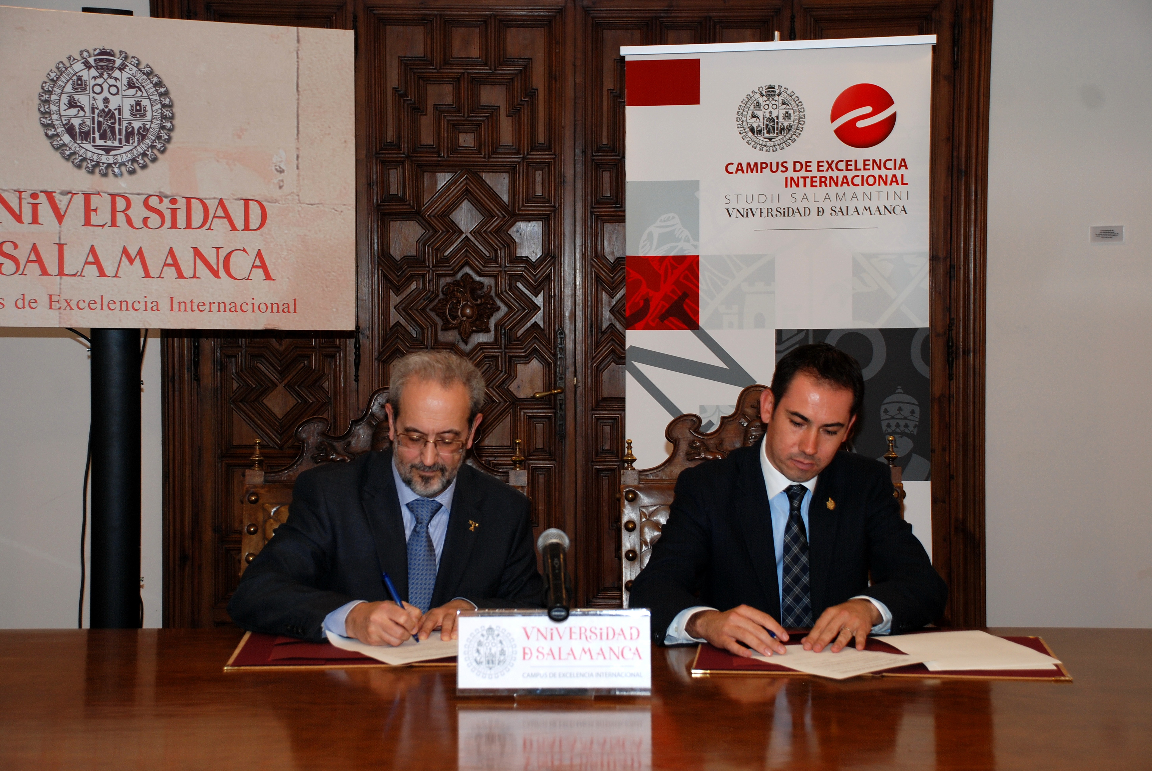 La Universidad y el Ayuntamiento de Salamanca (México) suscriben un convenio de colaboración