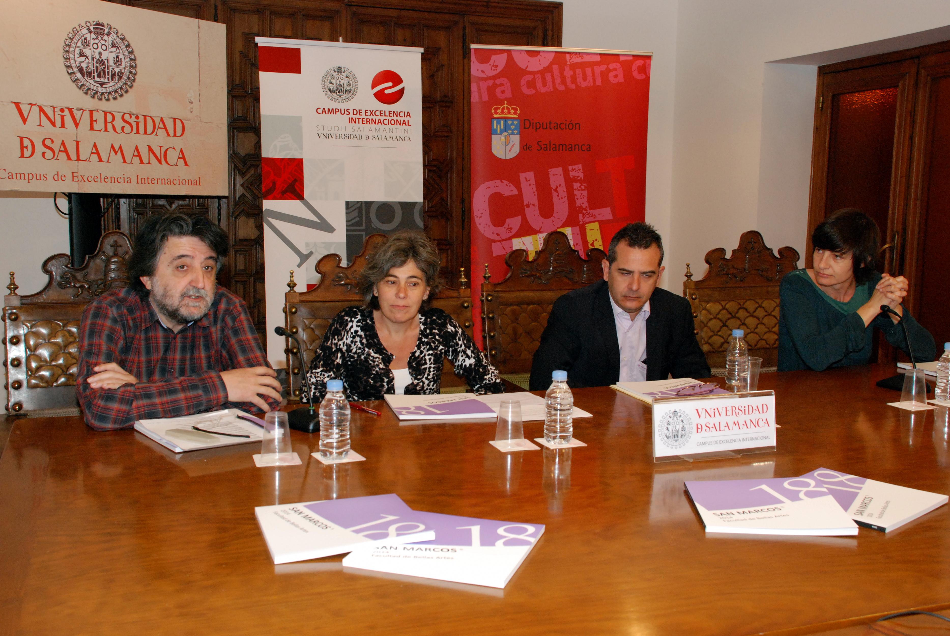 Un total de 63 obras componen la muestra seleccionada en los XVIII Premios San Marcos de la Facultad de Bellas Artes