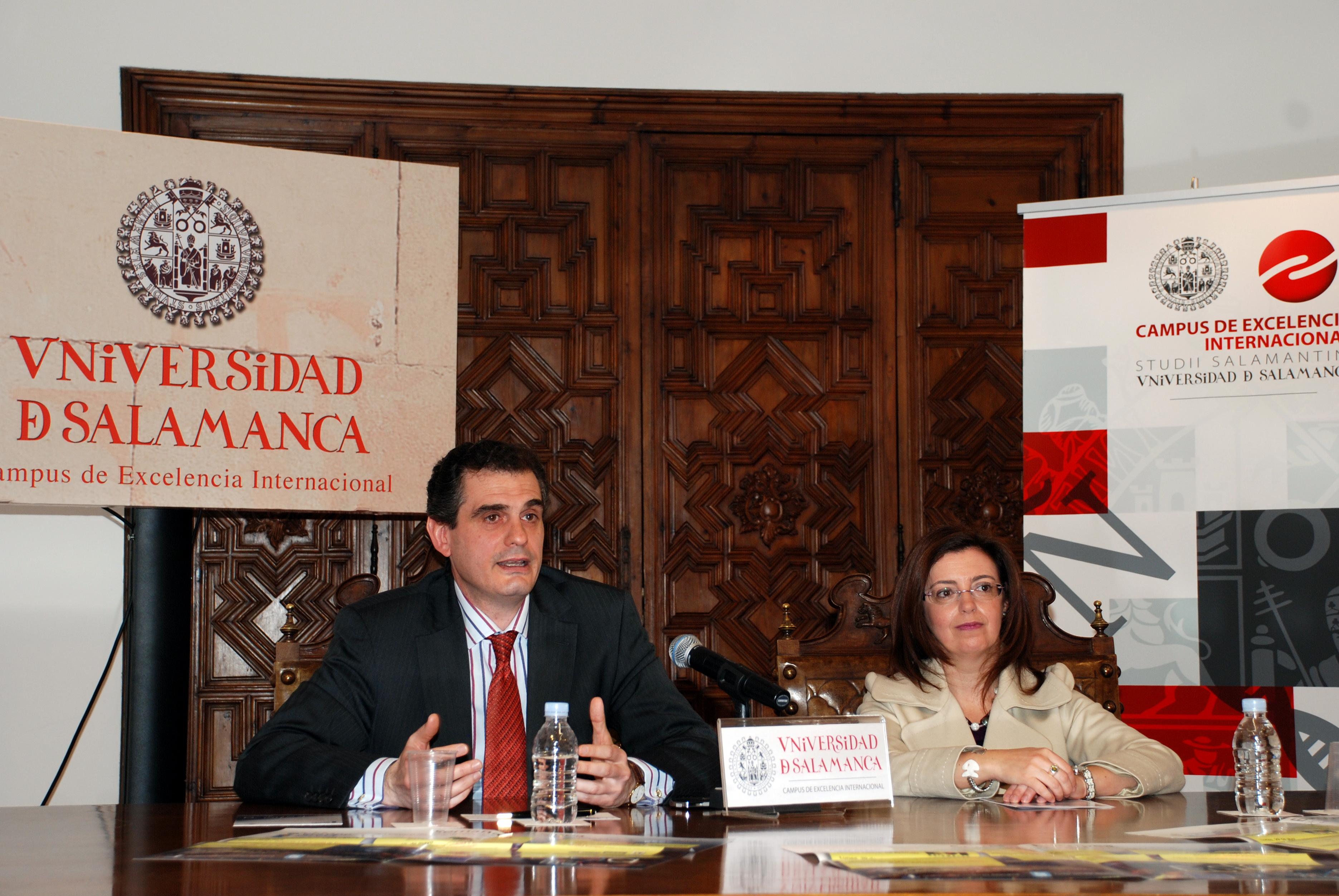 La Universidad de Salamanca presenta el programa de la 'Semana Europea', organizado con motivo del día de Europa