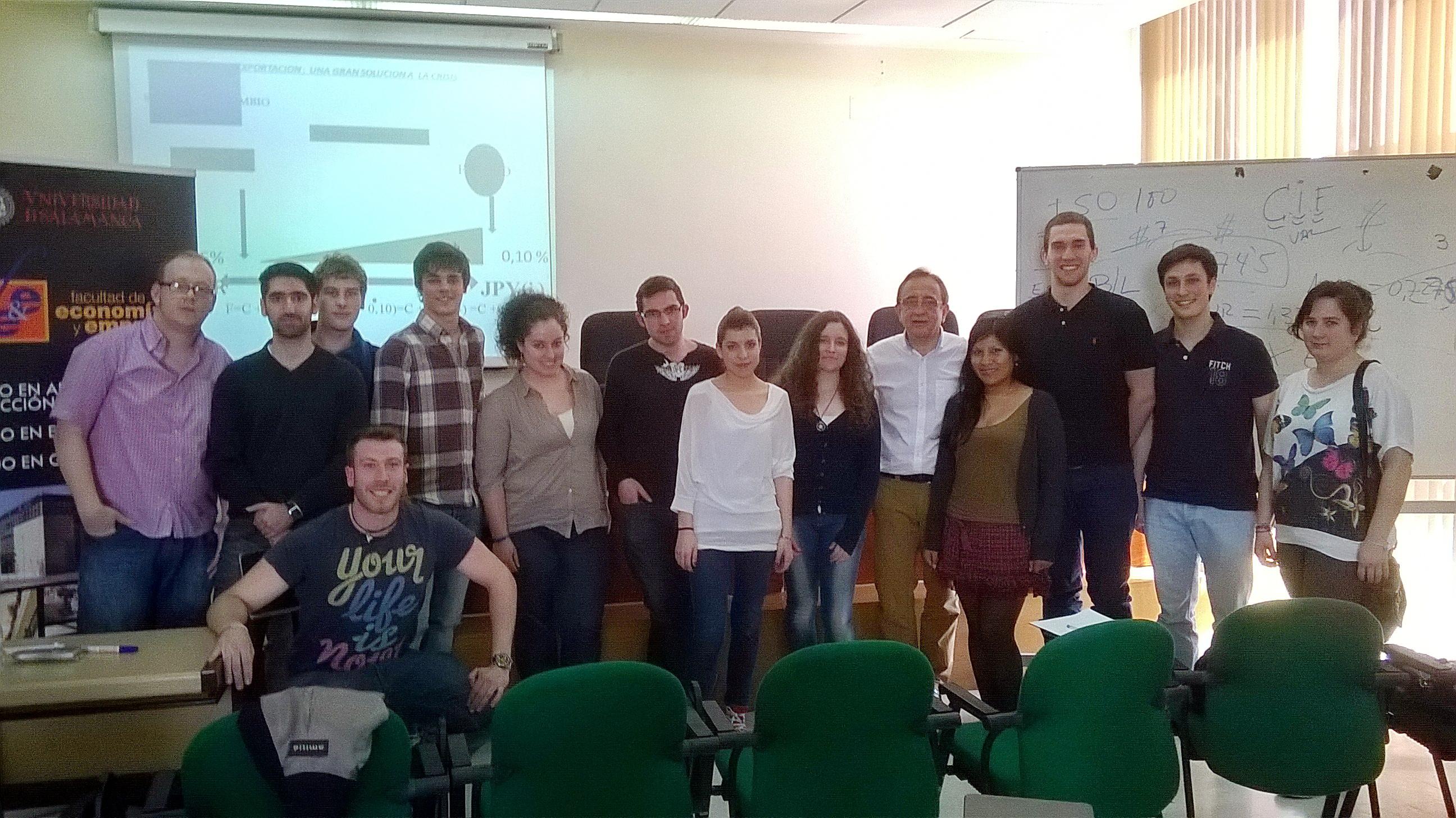 """La Facultad de Economía y Empresa acogió ayer el seminario abierto """"Exportación: Una gran solución a la crisis"""""""