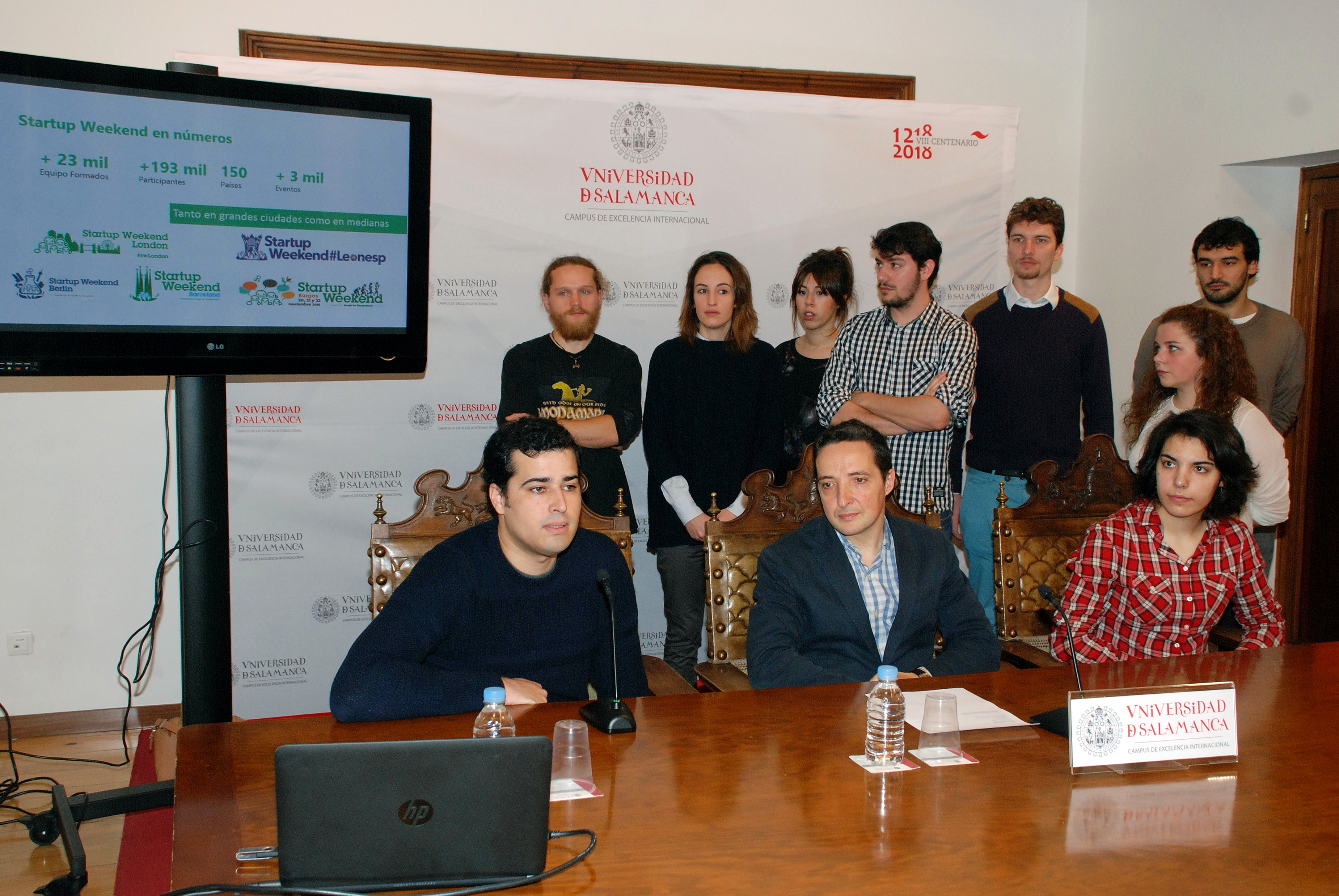 La Universidad de Salamanca acogerá el 'Startup Weekend Salamanca', el principal programa mundial de emprendimiento