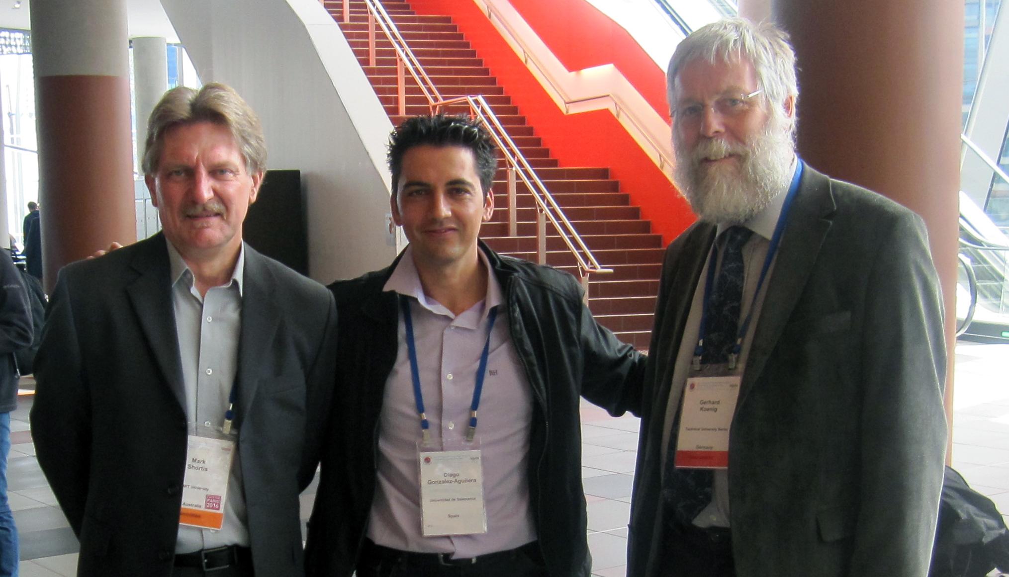 Un proyecto de la Universidad de Salamanca para la reconstrucción tridimensional de objetos a escala se alza en Australia con el galardón 'Silver ISPRS CATCON Award'
