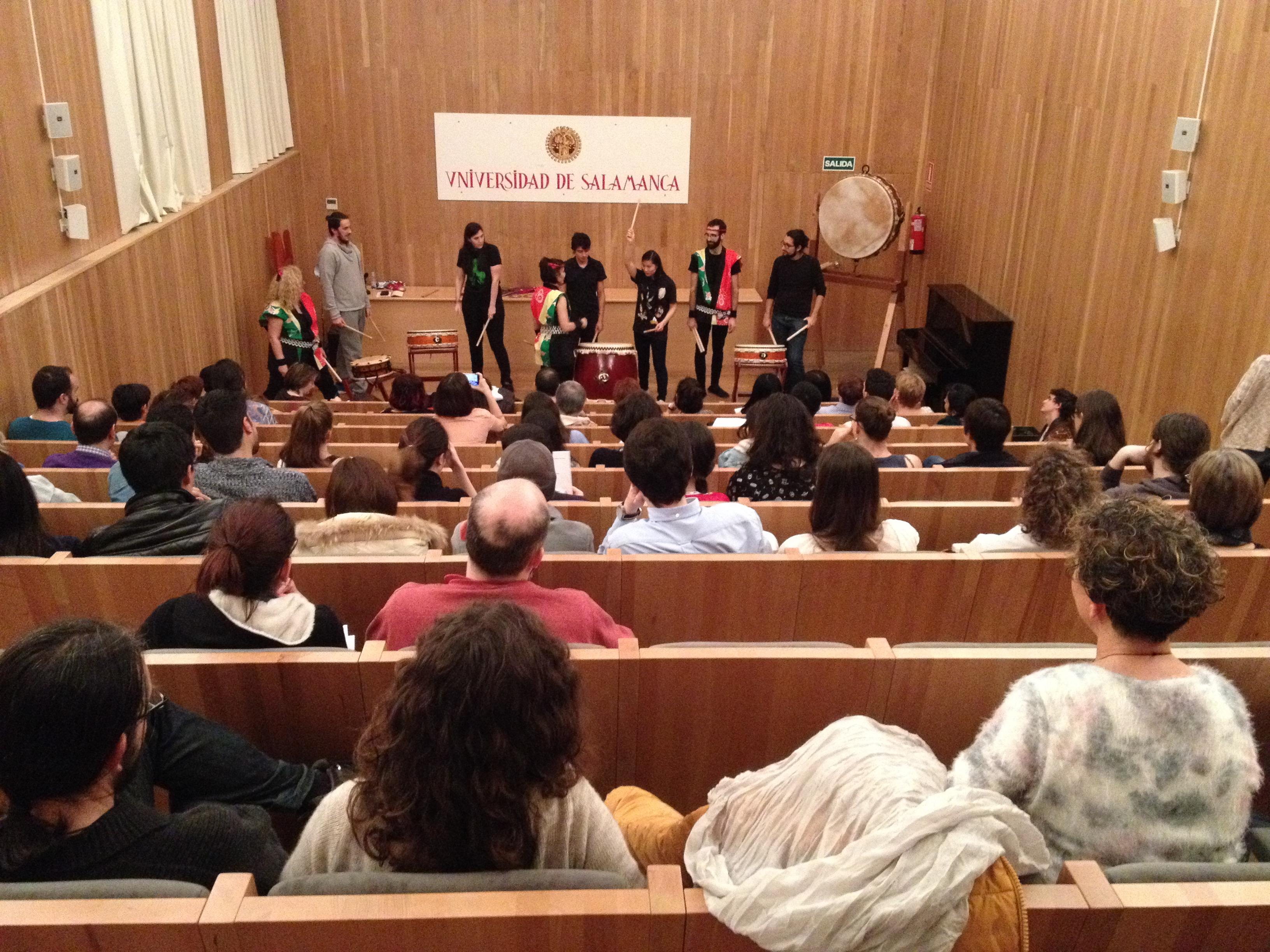 Más de 800 personas han particido en las conferencias, talleres y conciertos de la XVII Semana Cultural del Japón