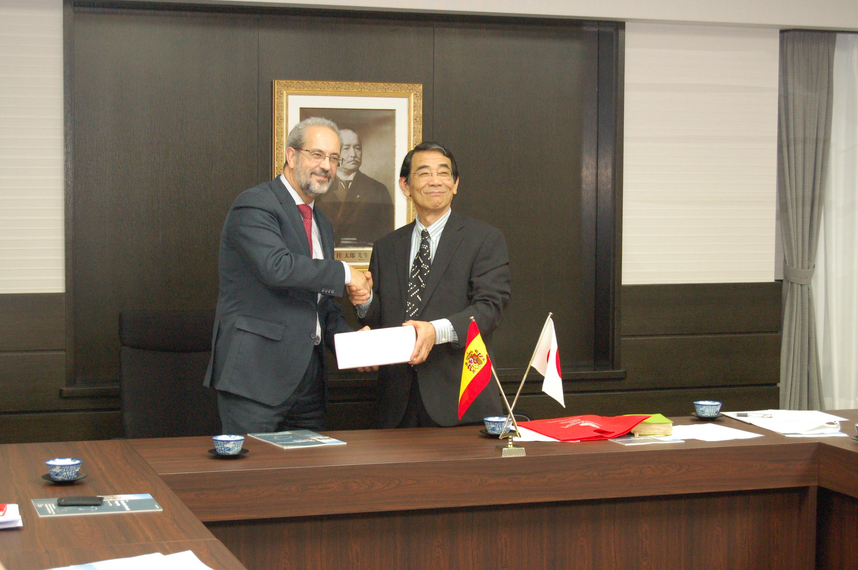 La Universidad de Salamanca impulsa en Japón varios convenios de colaboración internacional