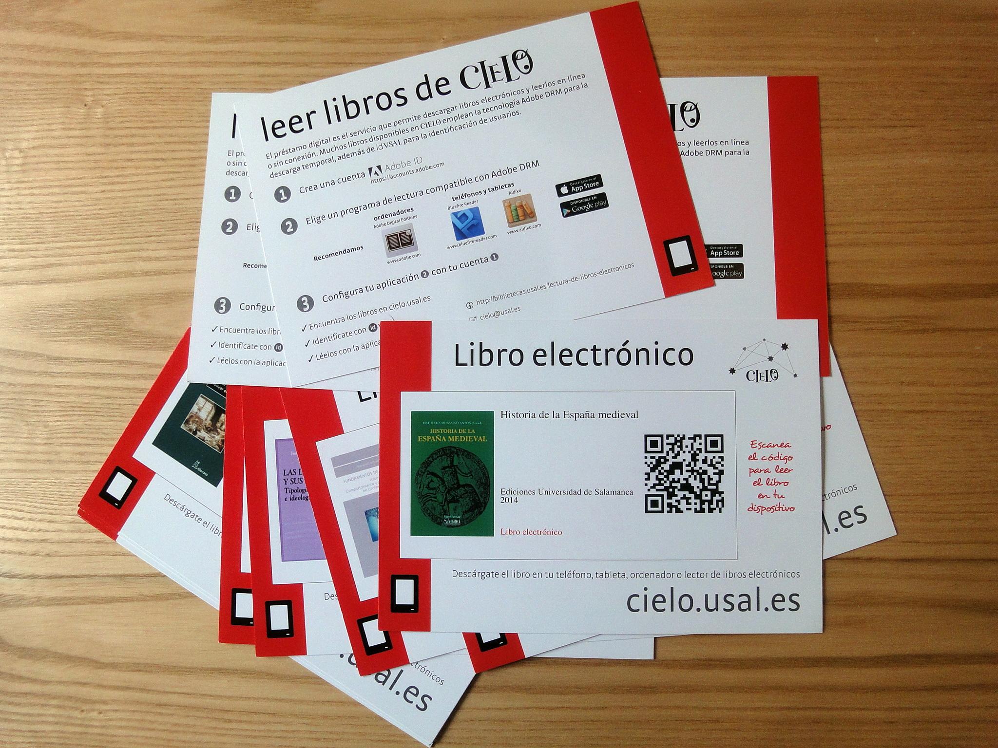 El Servicio de Bibliotecas de la Universidad organiza una original campaña de promoción del libro electrónico