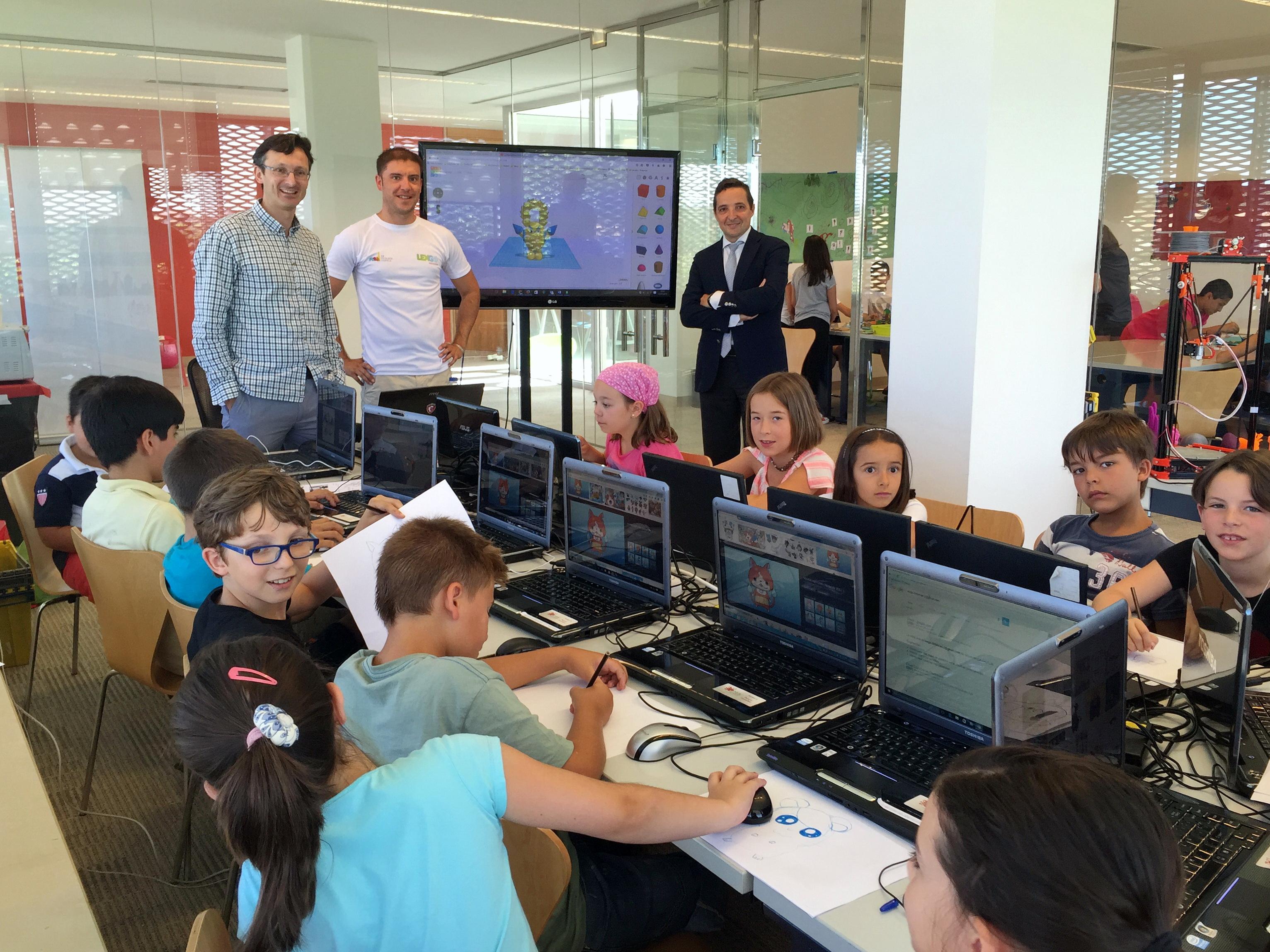El Parque Científico de la Universidad de Salamanca organiza un campamento tecnológico de verano