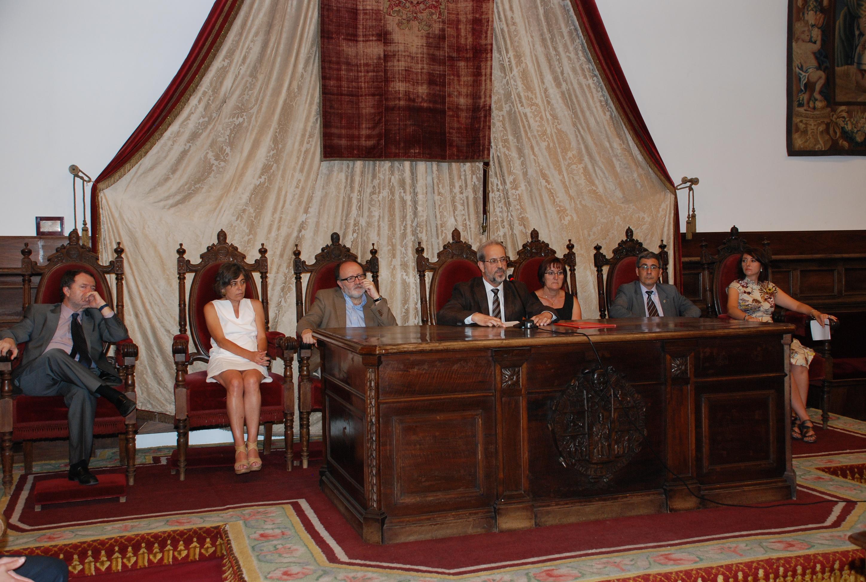 Tomas de posesión de cargos académicos y del personal docente e investigador de la Universidad de Salamanca.