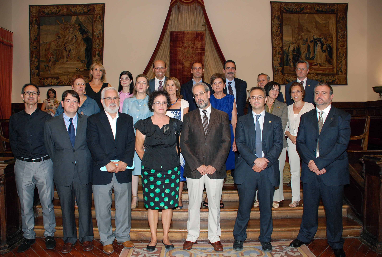 Tomas de posesión de cargos académicos y del personal docente e investigador de la Universidad de Salamanca