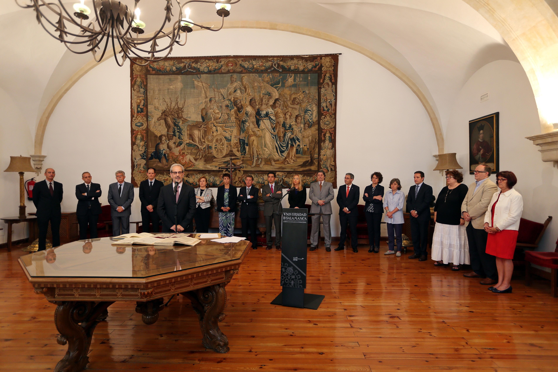 Ocho directores de departamento y el director del CIDTA toman posesión de sus nuevos cargos académicos
