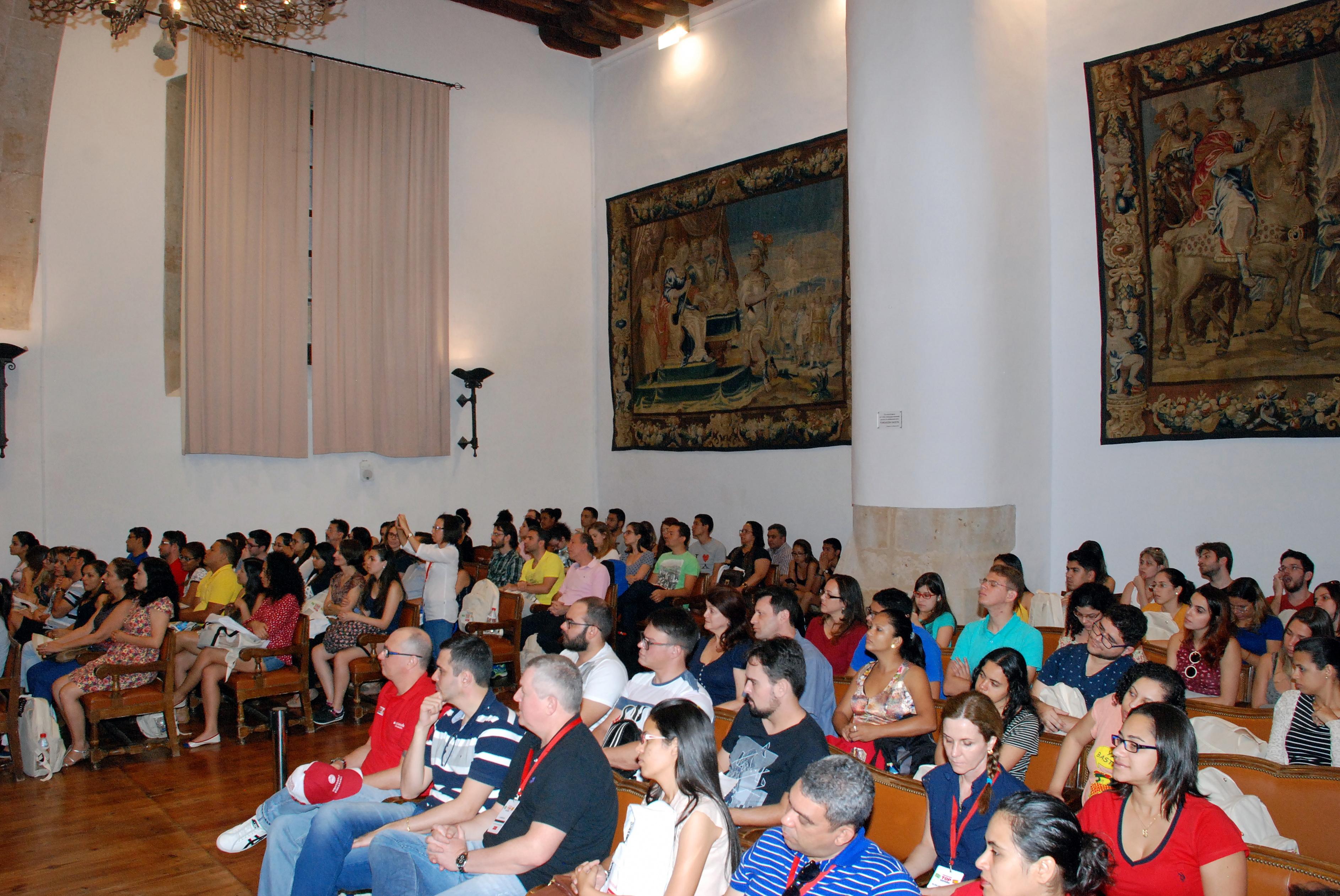Cerca de 150 estudiantes brasileños participan en la convocatoria del Programa TOP ESPAÑA de la Usal