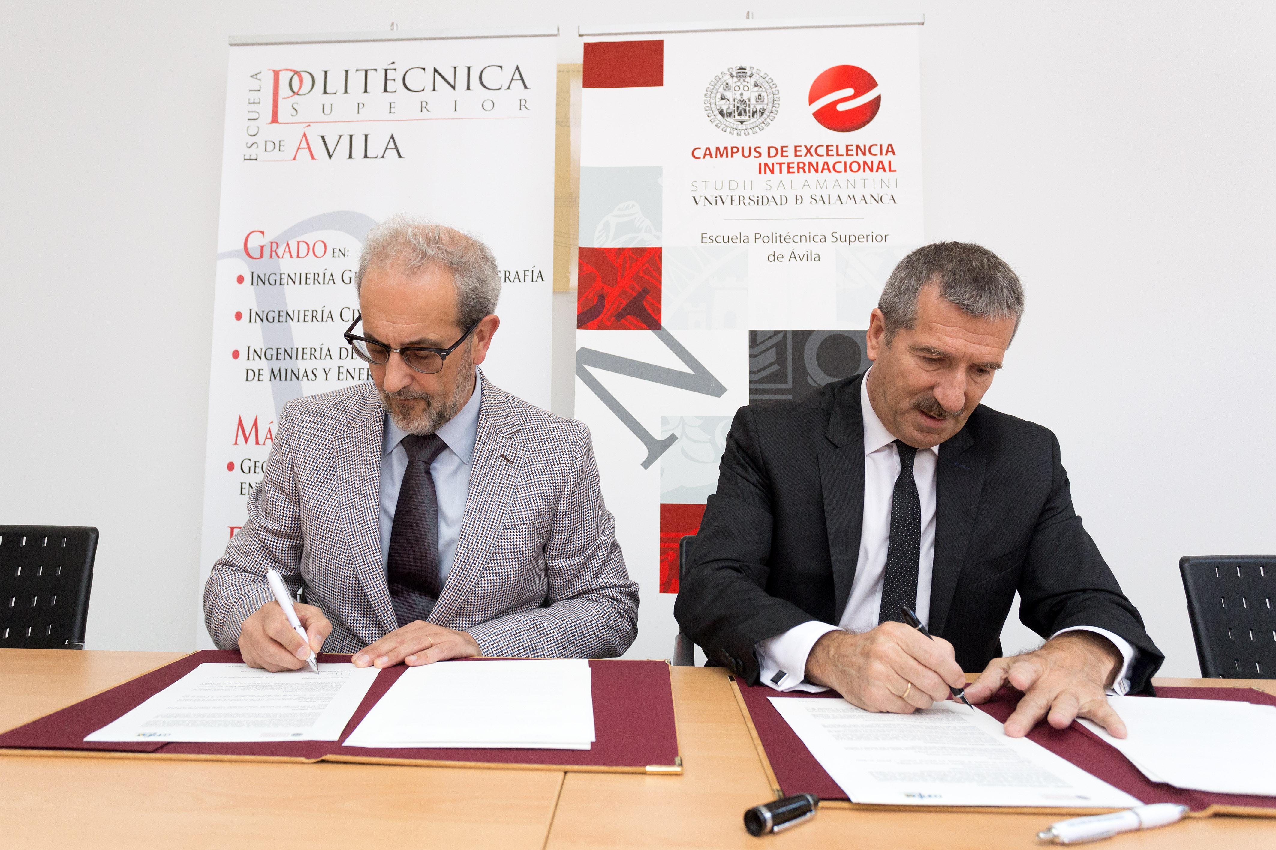 La Universidad de Salamanca y la Confederación Abulense de Empresarios desarrollan proyectos innovadores para mejorar la productividad y competitividad de las pymes