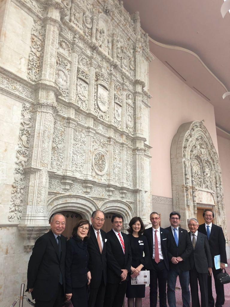 Finaliza la visita institucional a Japón con la celebración de un concierto conmemorativo del VIII Centenario de la Universidad de Salamanca
