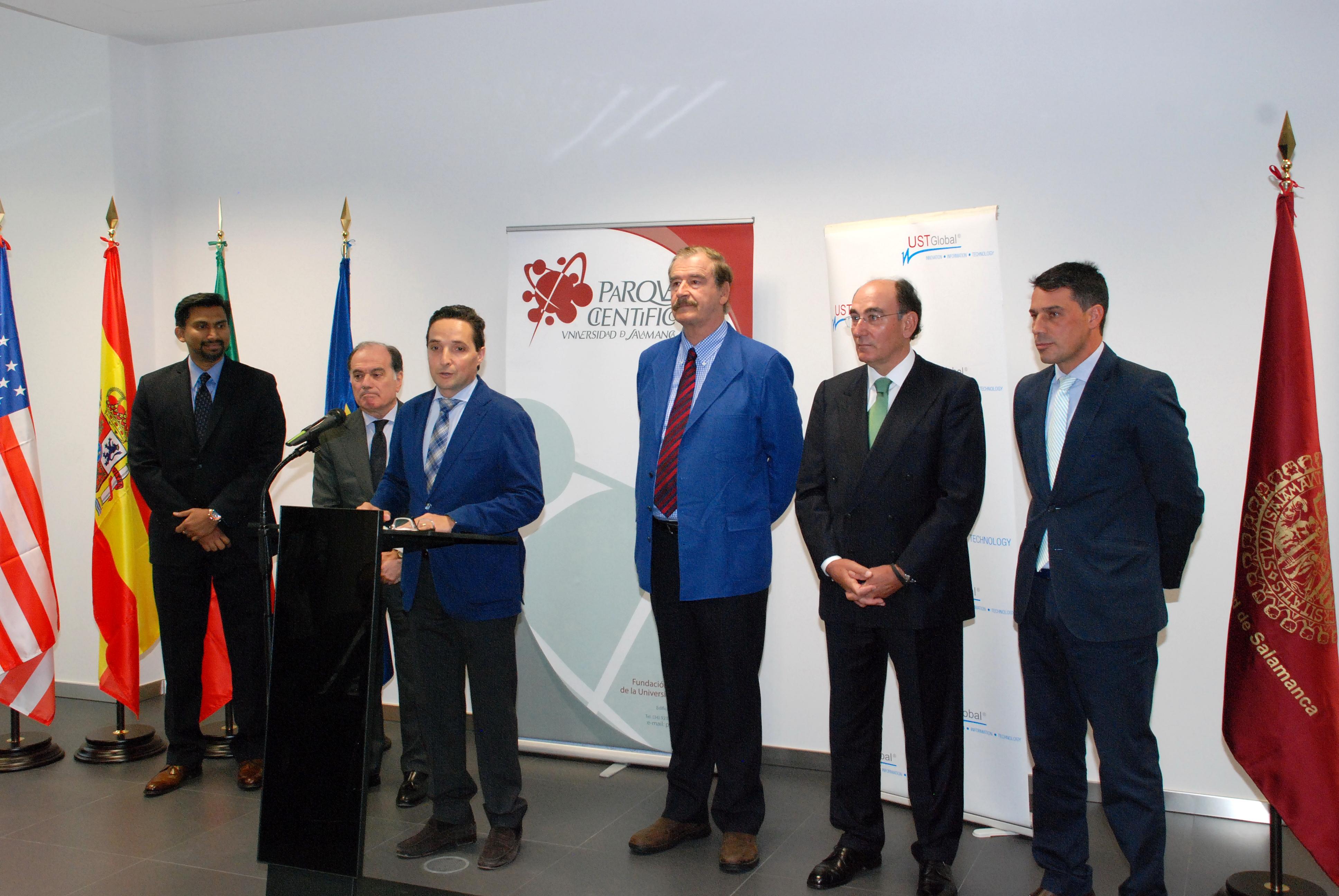 La Universidad de Salamanca impulsa el empleo con la implantación de la compañía UST Global en el Parque Científico
