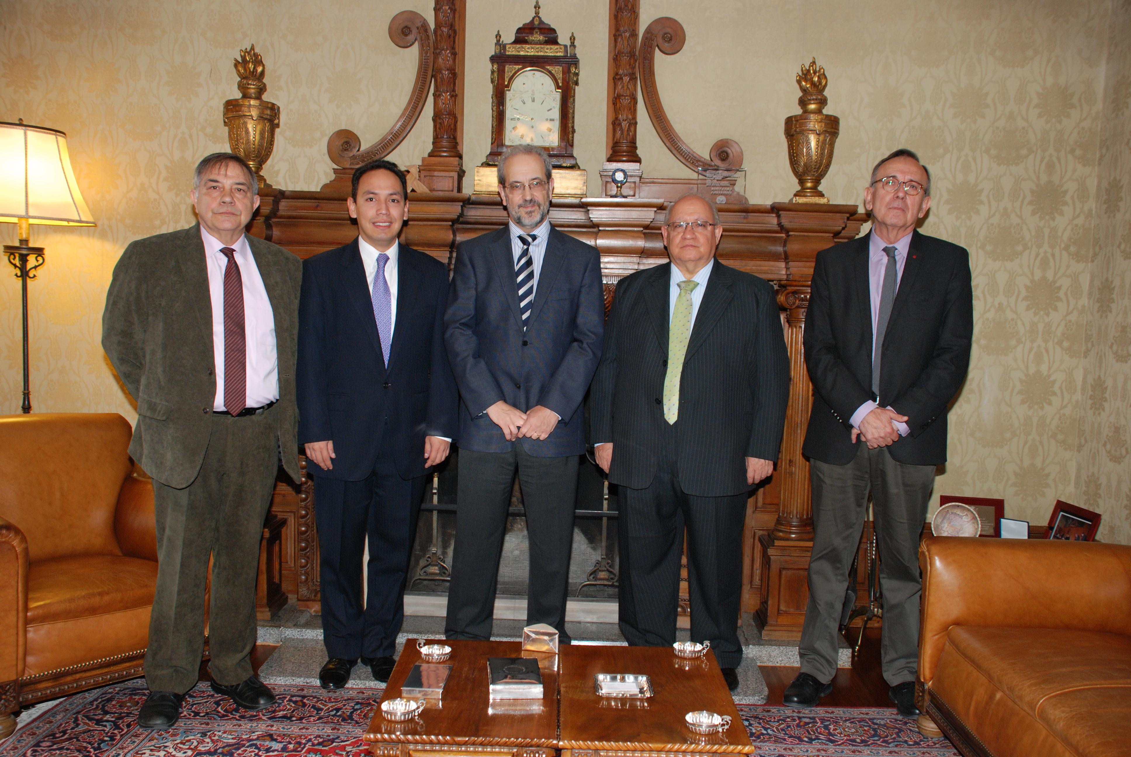 La Fundación General de la Universidad de Salamanca y las Unidades Tecnológicas de Santander de Colombia crearán un título de Tecnología en Geotecnia