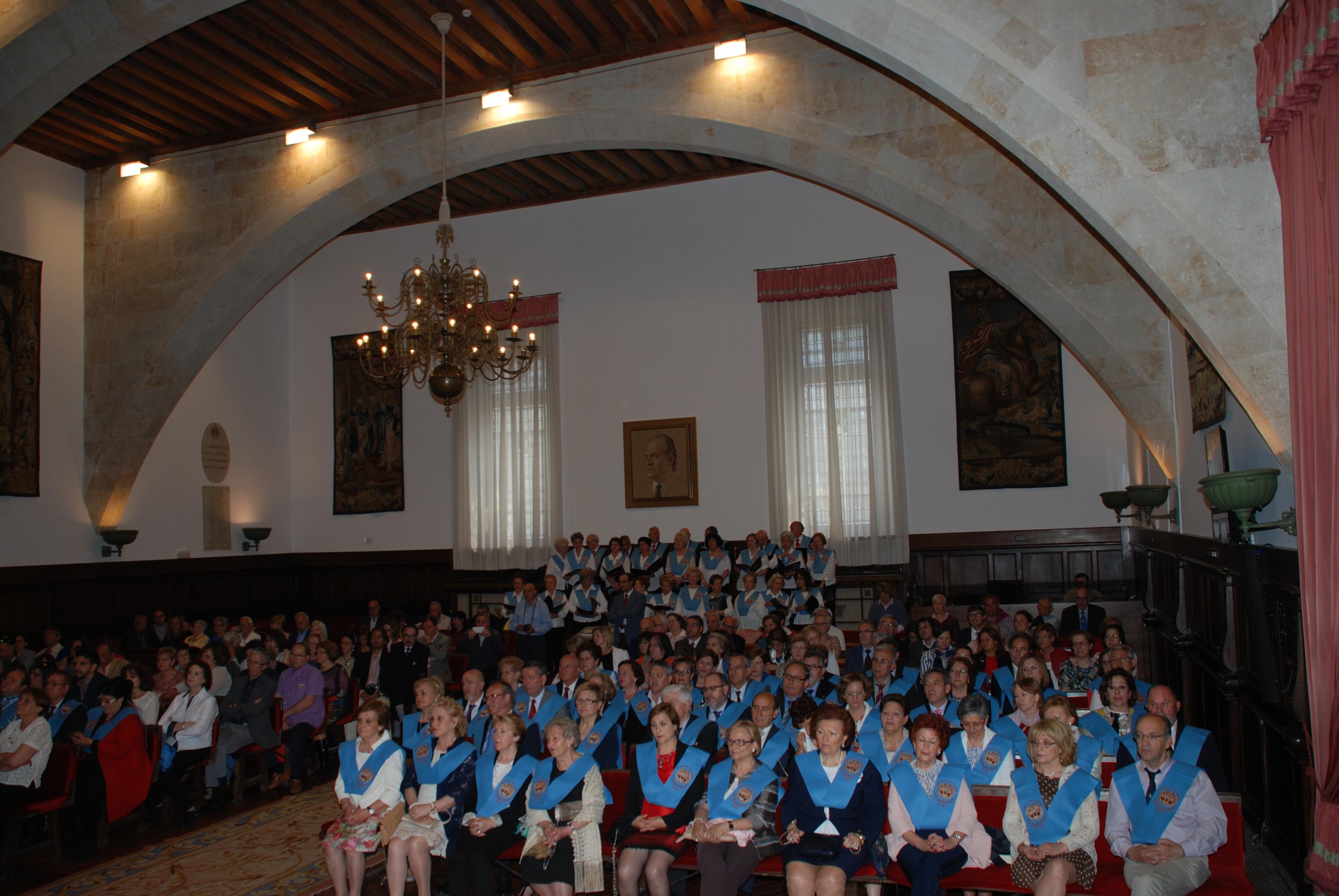 Más de cien alumnos se gradúan en el Programa Interuniversitario de la Experiencia de Castilla y León