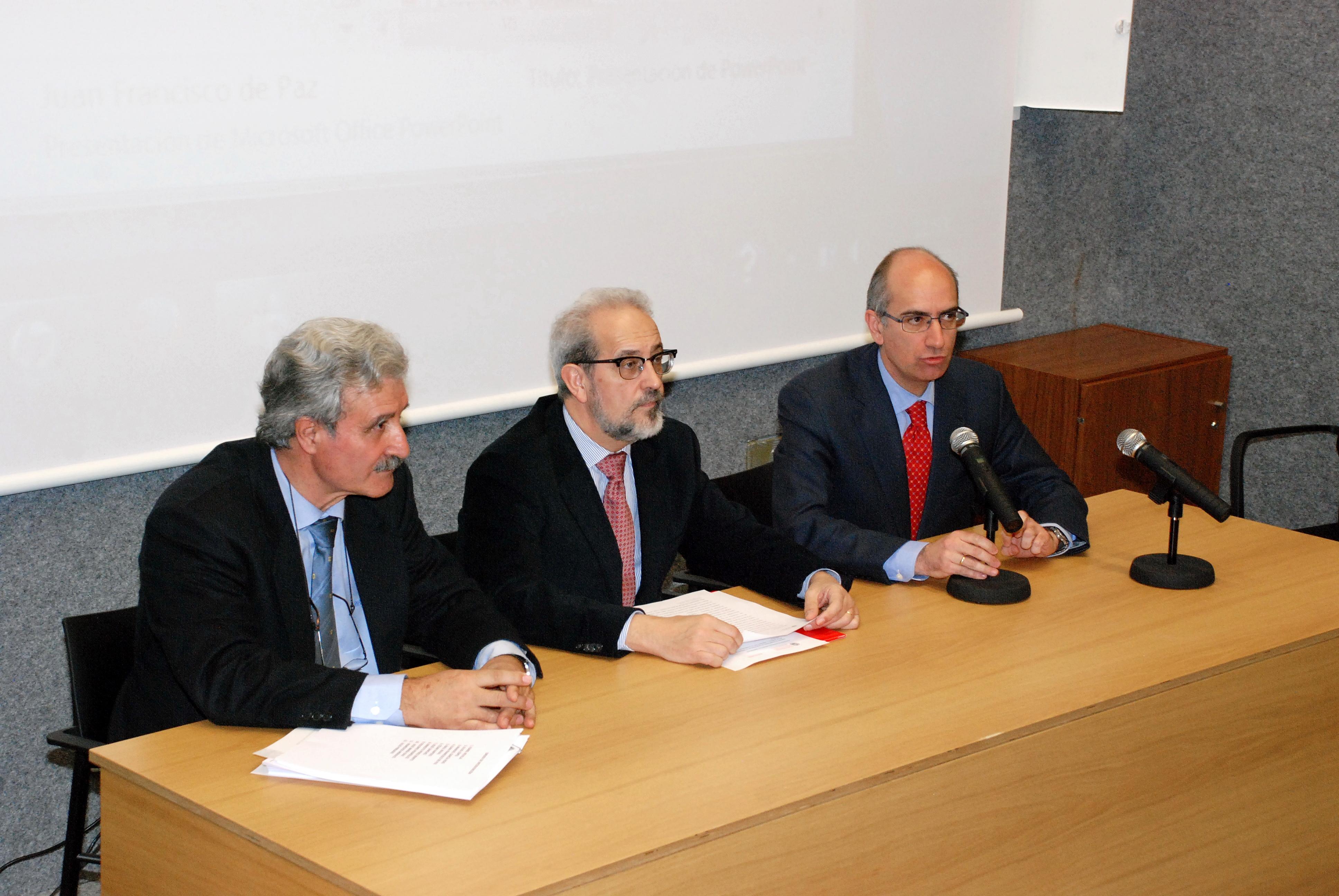 El rector y el presidente de la Diputación inauguran la Jornada de presentación de capacidades investigadoras de la Universidad de Salamanca