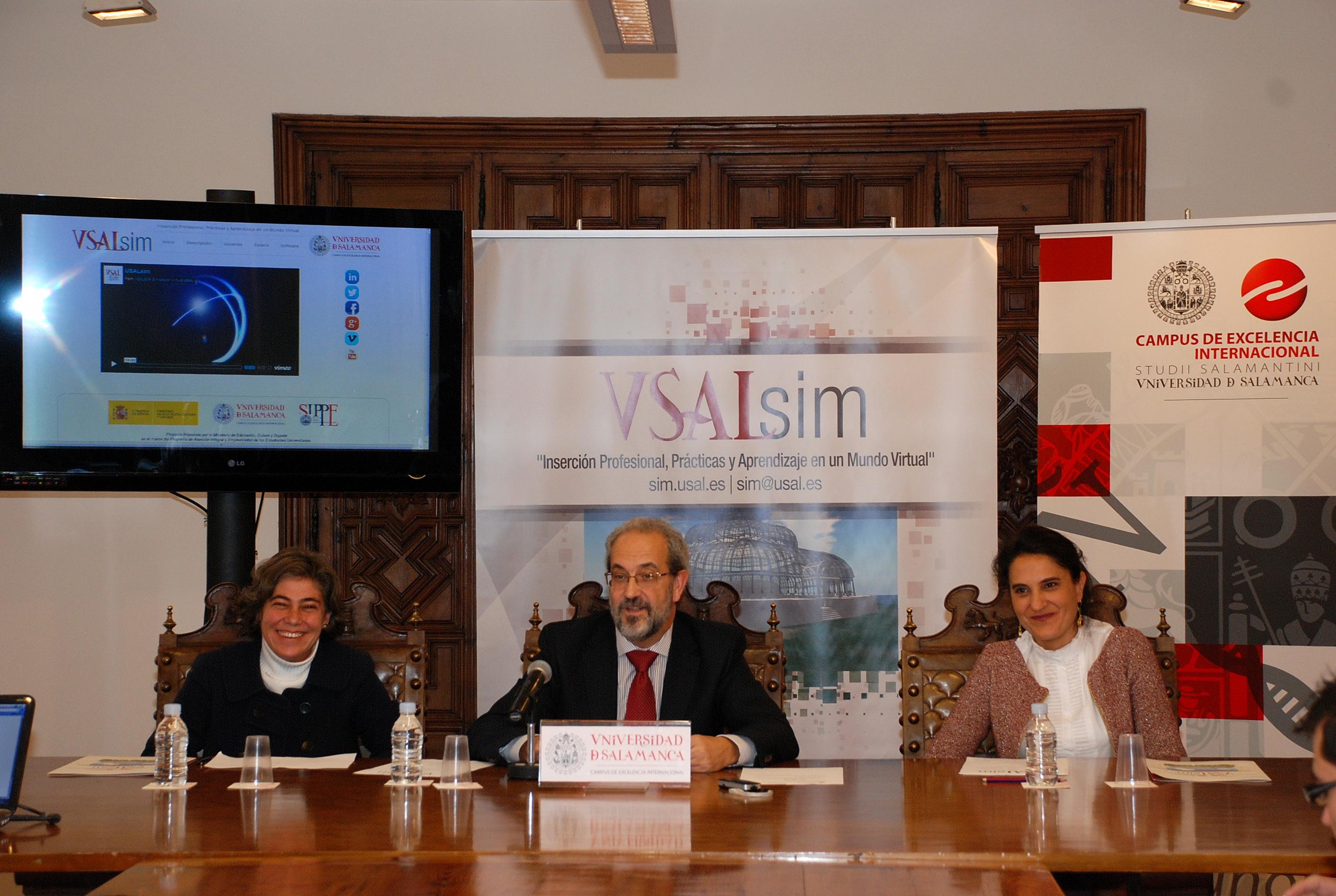 La Universidad de Salamanca presenta el Campus Virtual de Prácticas para estudiantes universitarios