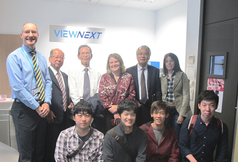 El Parque Científico recibe la visita de una delegación del Instituto Tecnológico de Osaka