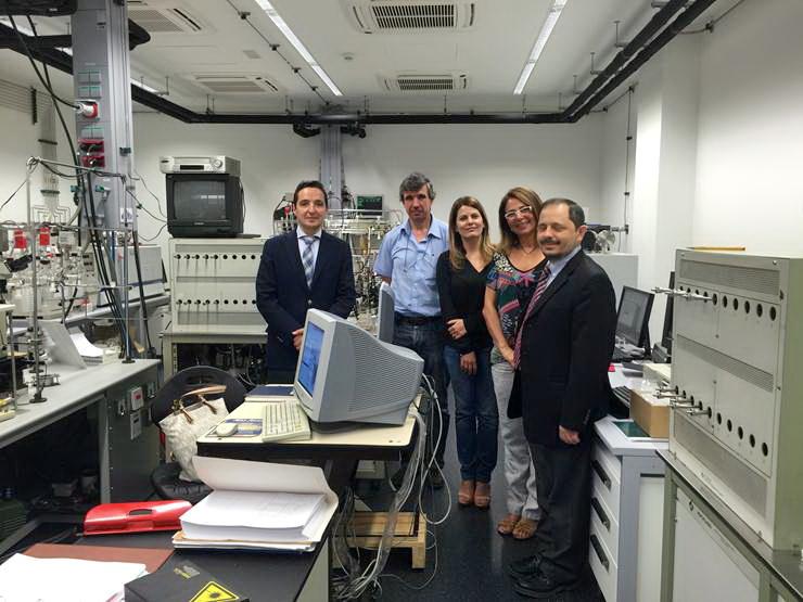 Especialistas en desarrollos de grandes sistemas informáticos de Brasil y Catar visitan el Parque Científico y el Multiusos I+D+i
