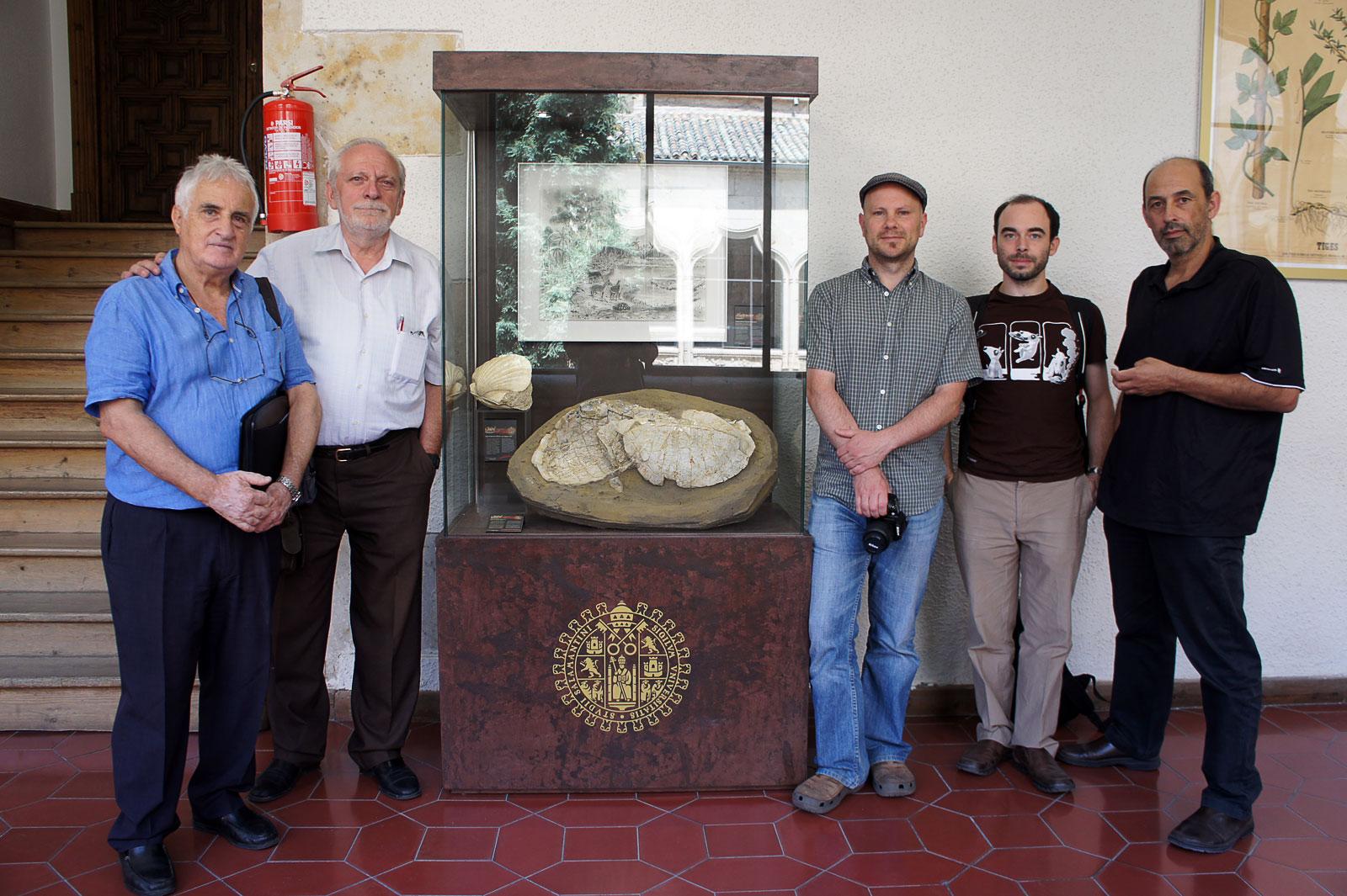 Visita a la Sala de las Tortugas de la Universidad de Salamanca