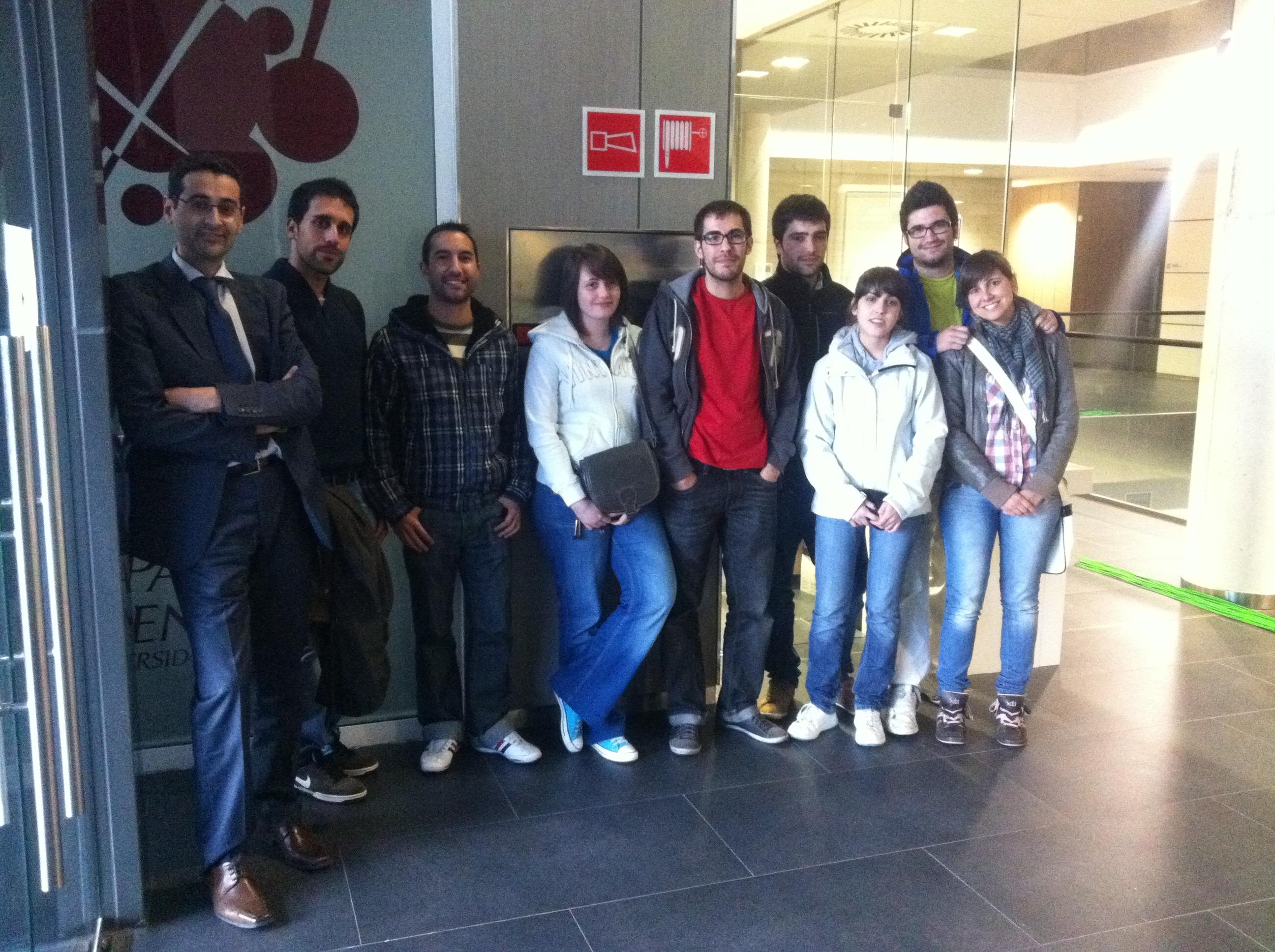 Estudiantes de Físicas visitan el Parque Científico