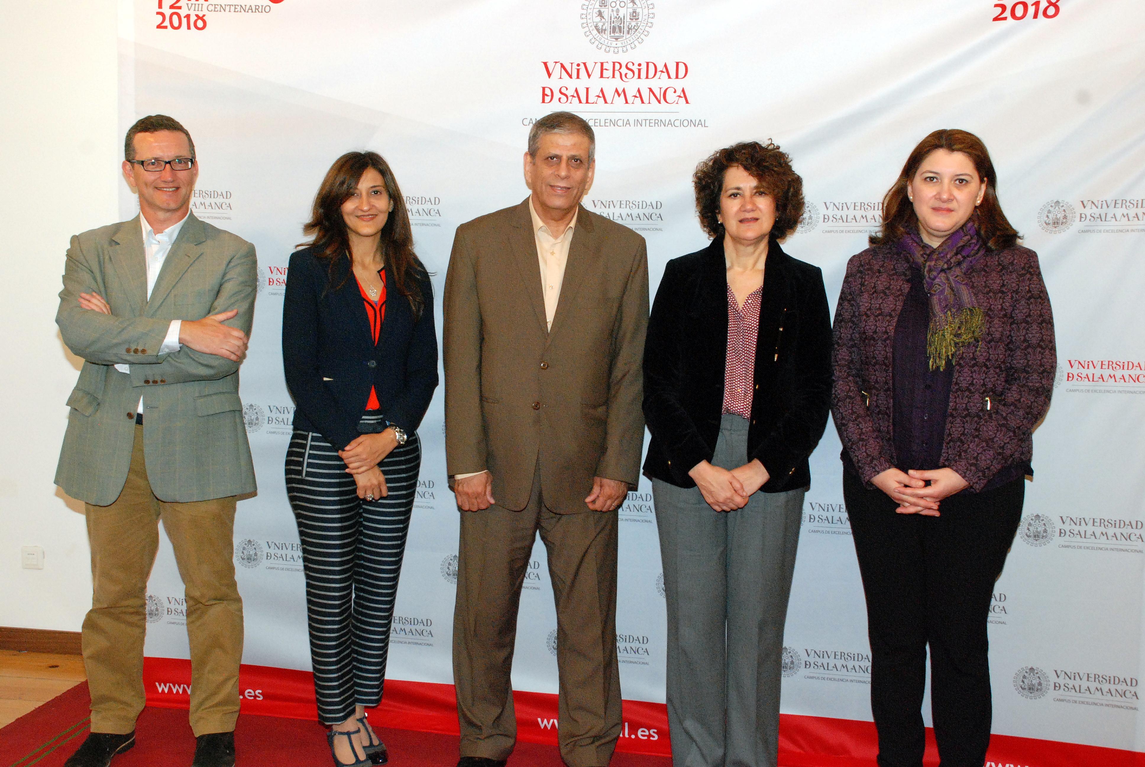 La Universidad de Salamanca recibe a una delegación de la Universidad de El Cairo