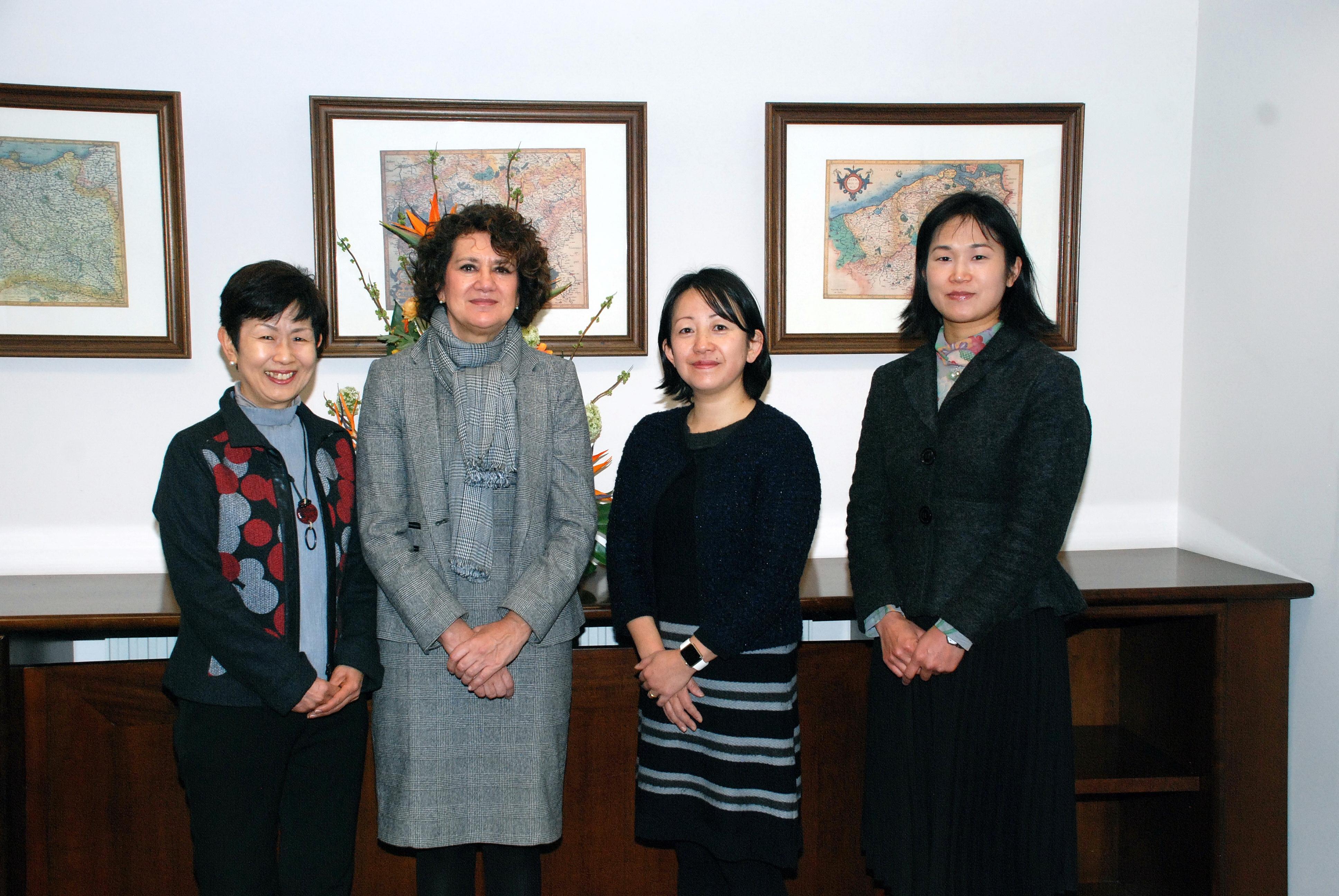 La Universidad de Salamanca recibe a una delegación de la Universidad Kanagawa de Japón