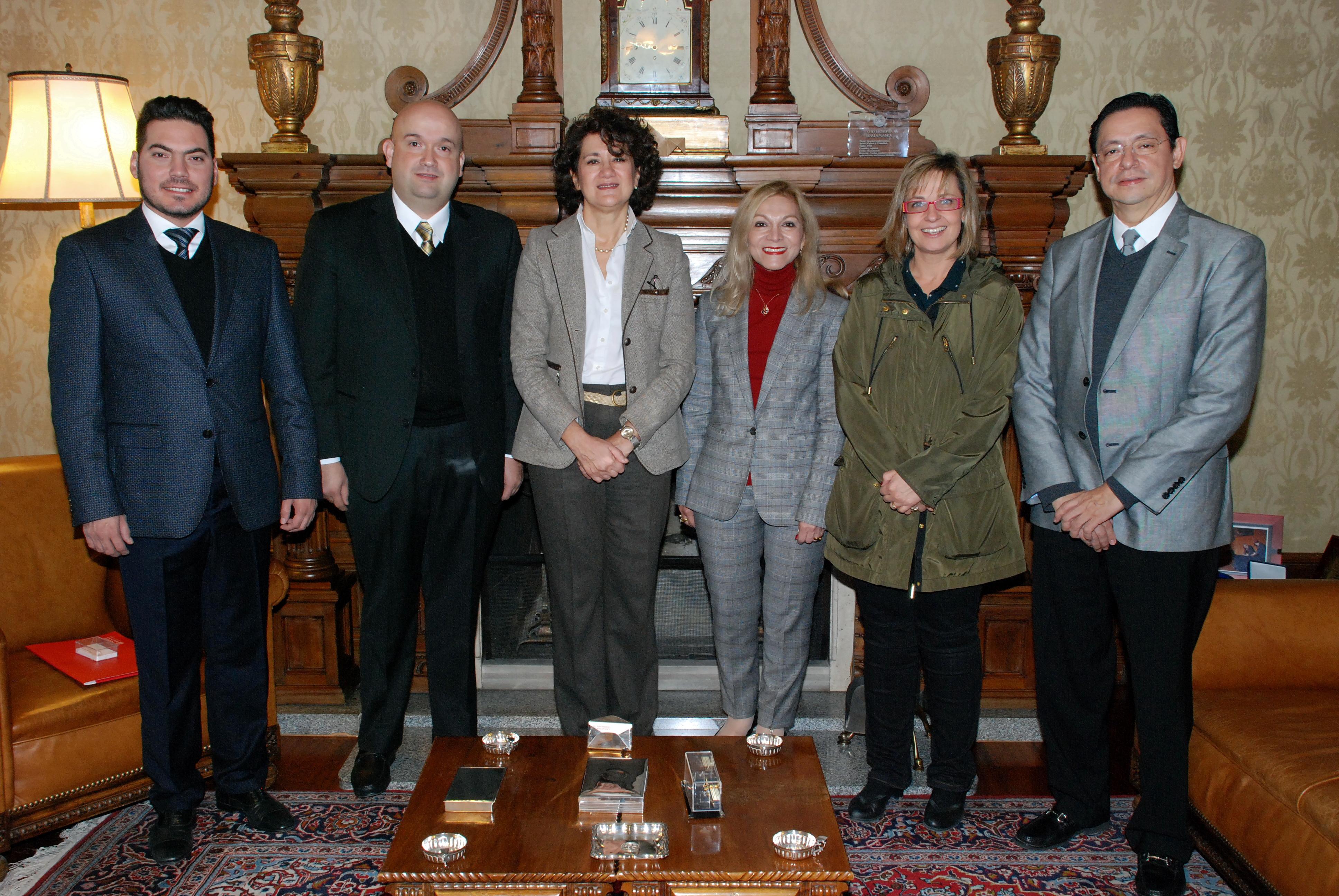 La Universidad de Salamanca y la Universidad Autónoma de Nuevo León desarrollarán conjuntamente el Máster en Ciencia Política