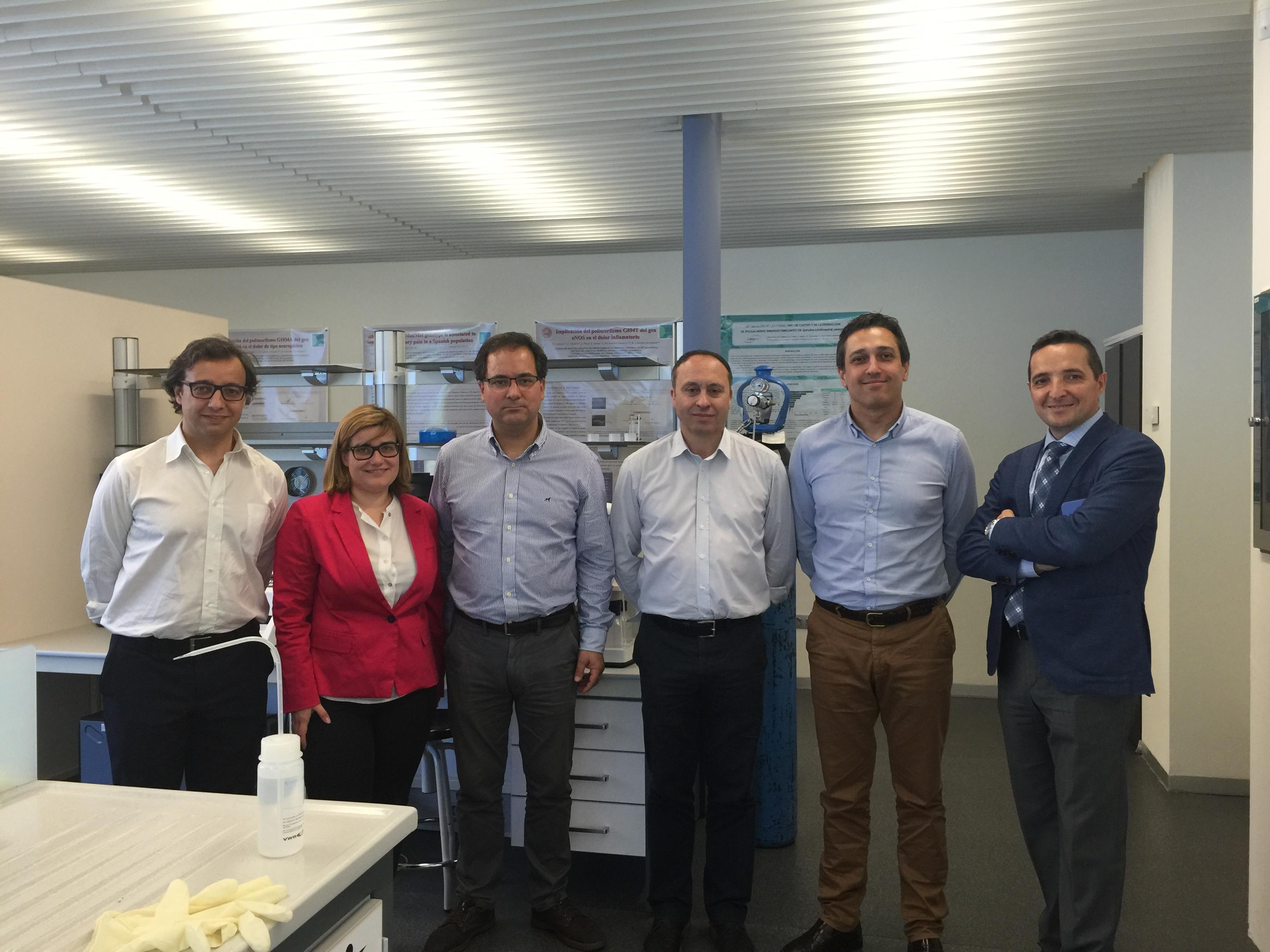 Una delegación de responsables de parques científicos y tecnológicos de Portugal visita el Parque Científico USAL