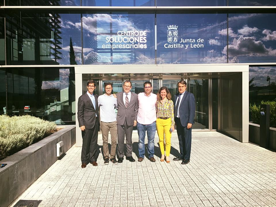 Wembley Studios, empresa ubicada en el Parque Científico, elegida como una de las más prometedoras de Castilla y León