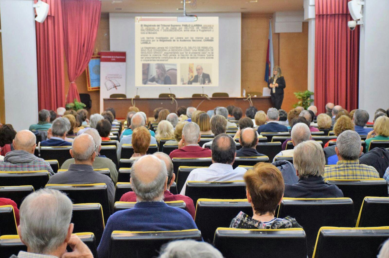 El Programa Interuniversitario de la Experiencia organiza la conferencia 'El procès catalán: De la construcción del relato a la fabricación de la postverdad'