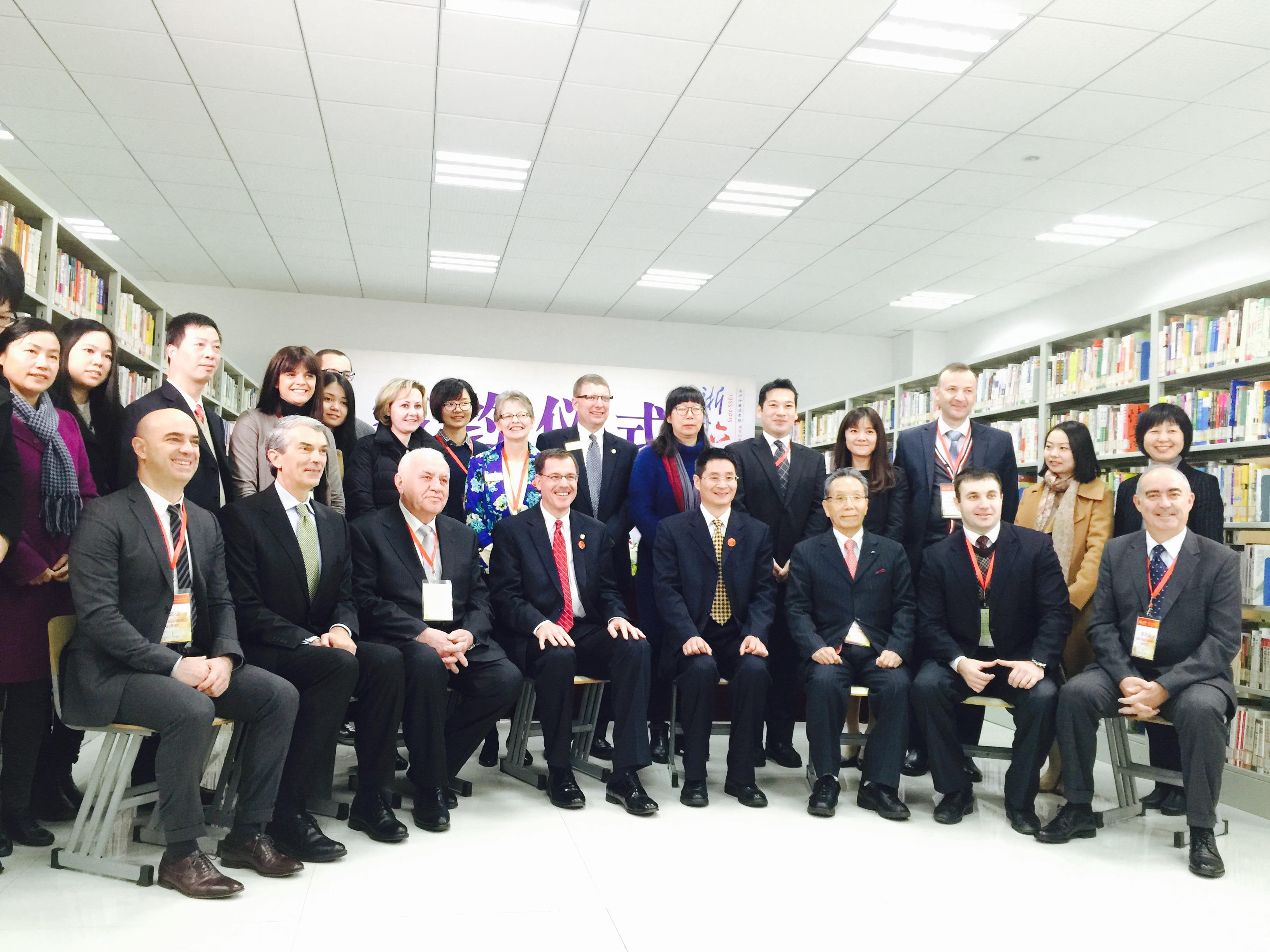 La Universidad de Salamanca participa en el 60º aniversario de la Universidad de Estudios Internacionales de Zheijiang