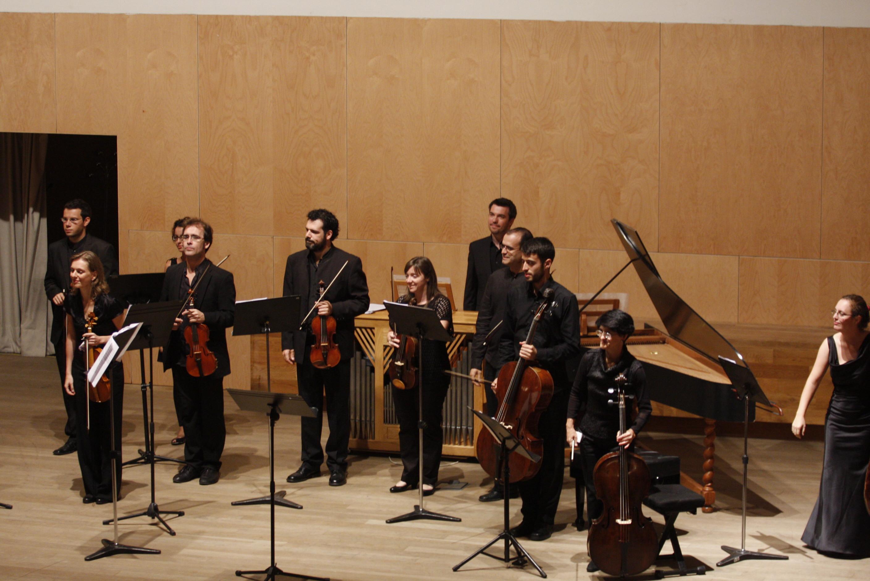 La Orquesta Barroca interpreta el 'Stabat Mater' de Pergolesi en el Concierto de Apertura del Curso Académico 2011-2012