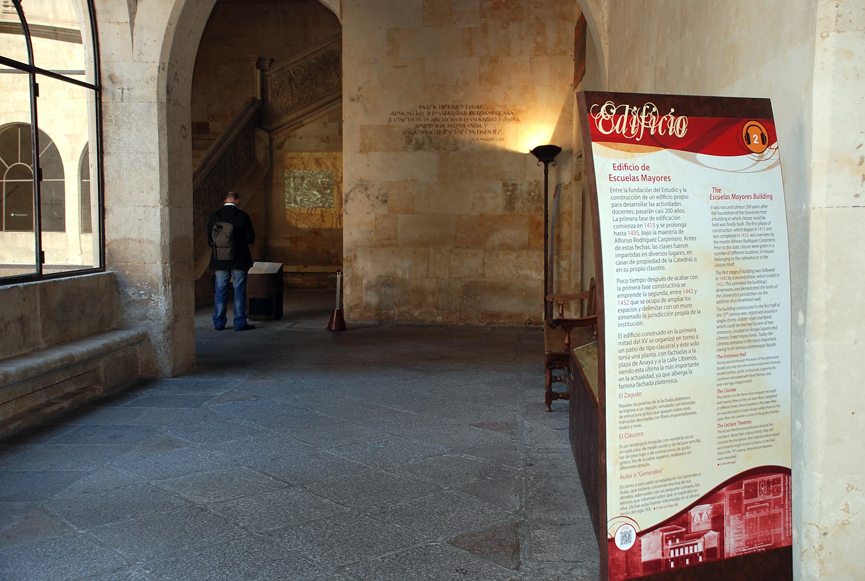 Presentación del proyecto de intervención museística de las Escuelas Mayores de la Universidad de Salamanca