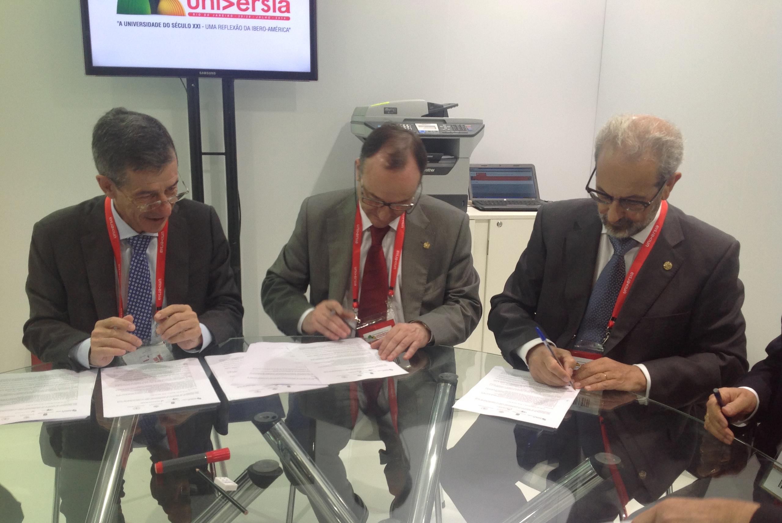 La Universidad de Salamanca y la Academia Brasileña de Letras potenciarán la cooperación académica y cultural entre ambos países
