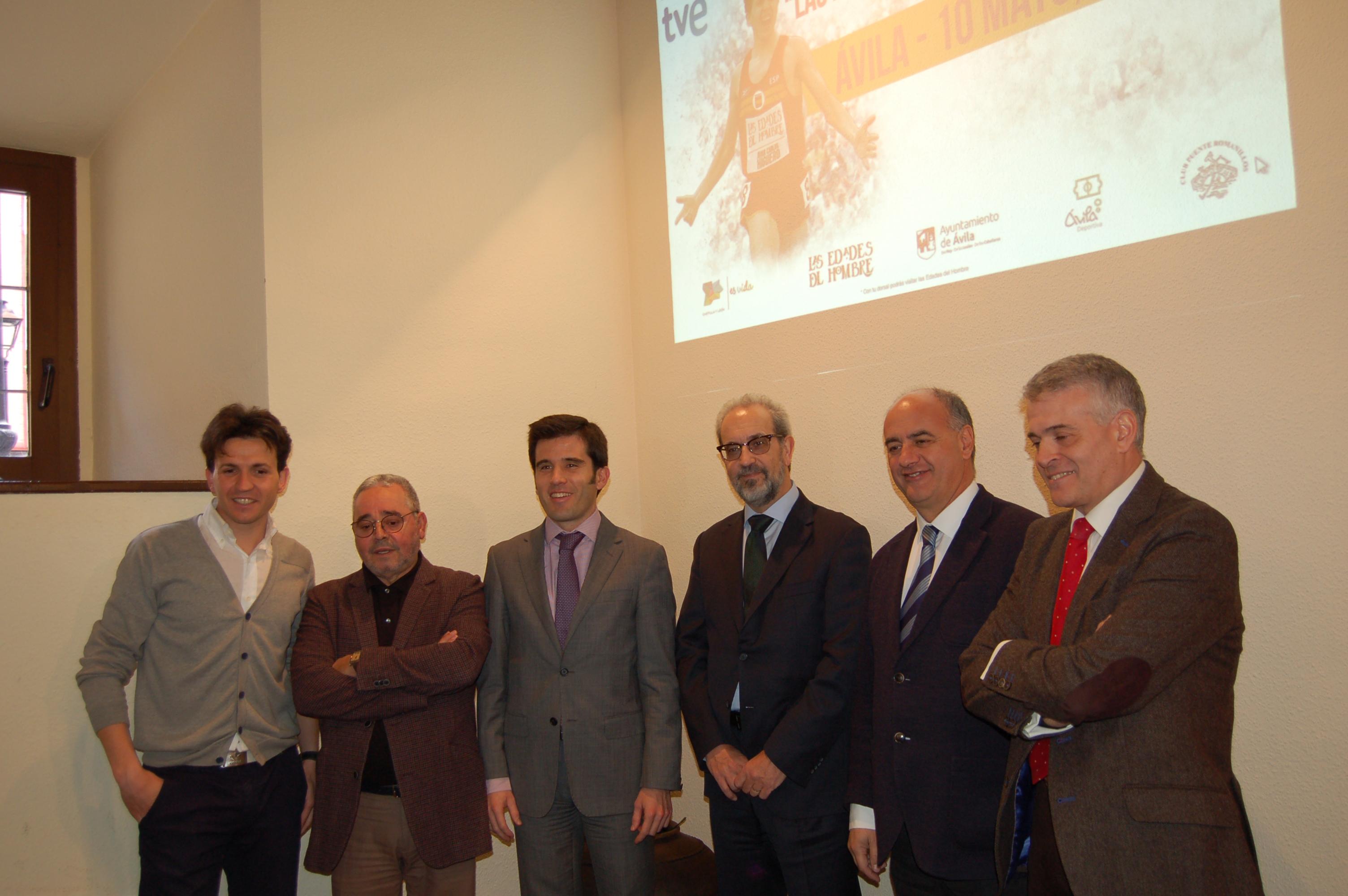 """La carrera """"Las Edades del Hombre""""-Universidad de Salamanca se celebrará de forma simultánea el próximo 10 de mayo en Ávila"""