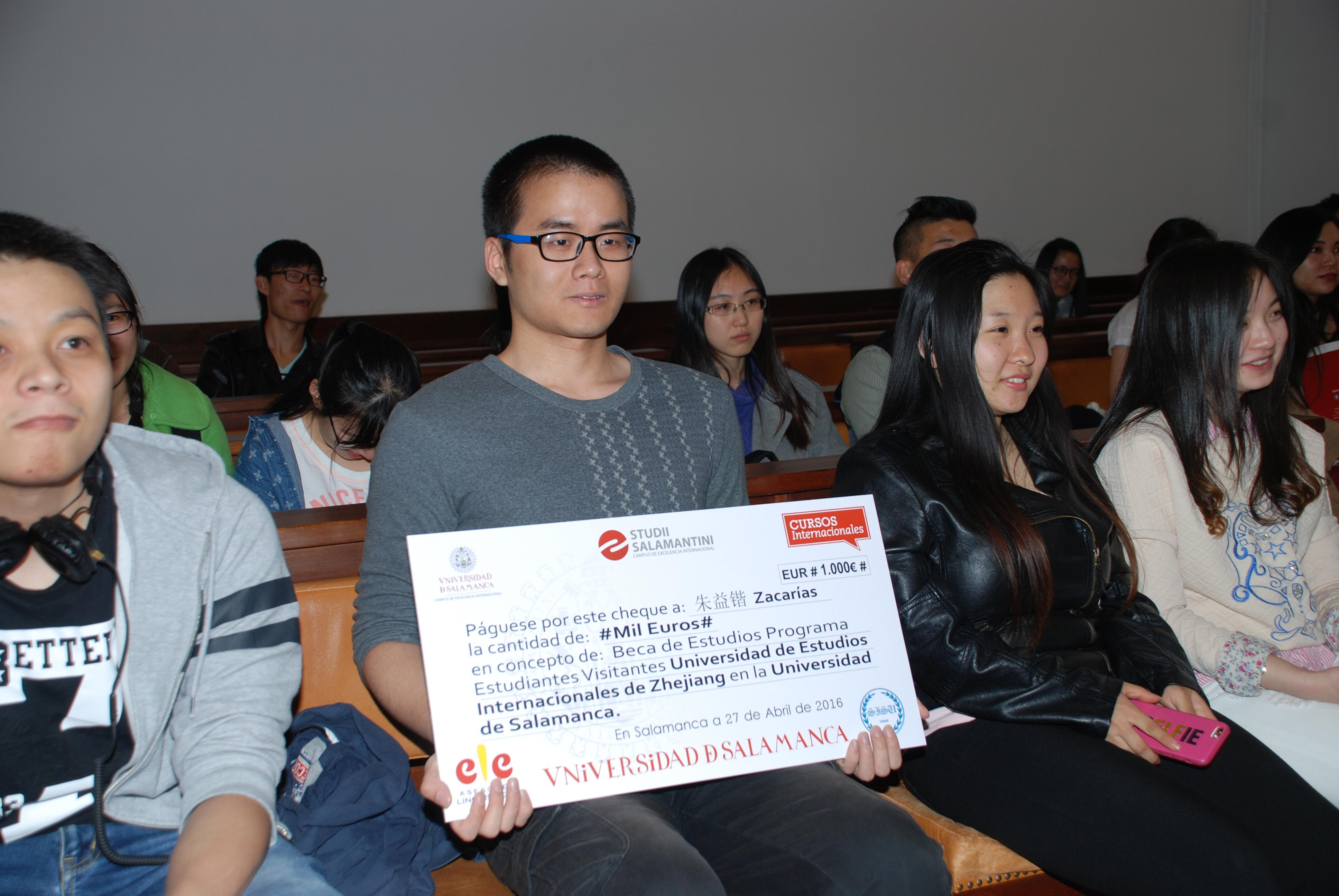La vicerrectora de Internacionalización recibe a los estudiantes chinos matriculados en el 'Programa Visitante'