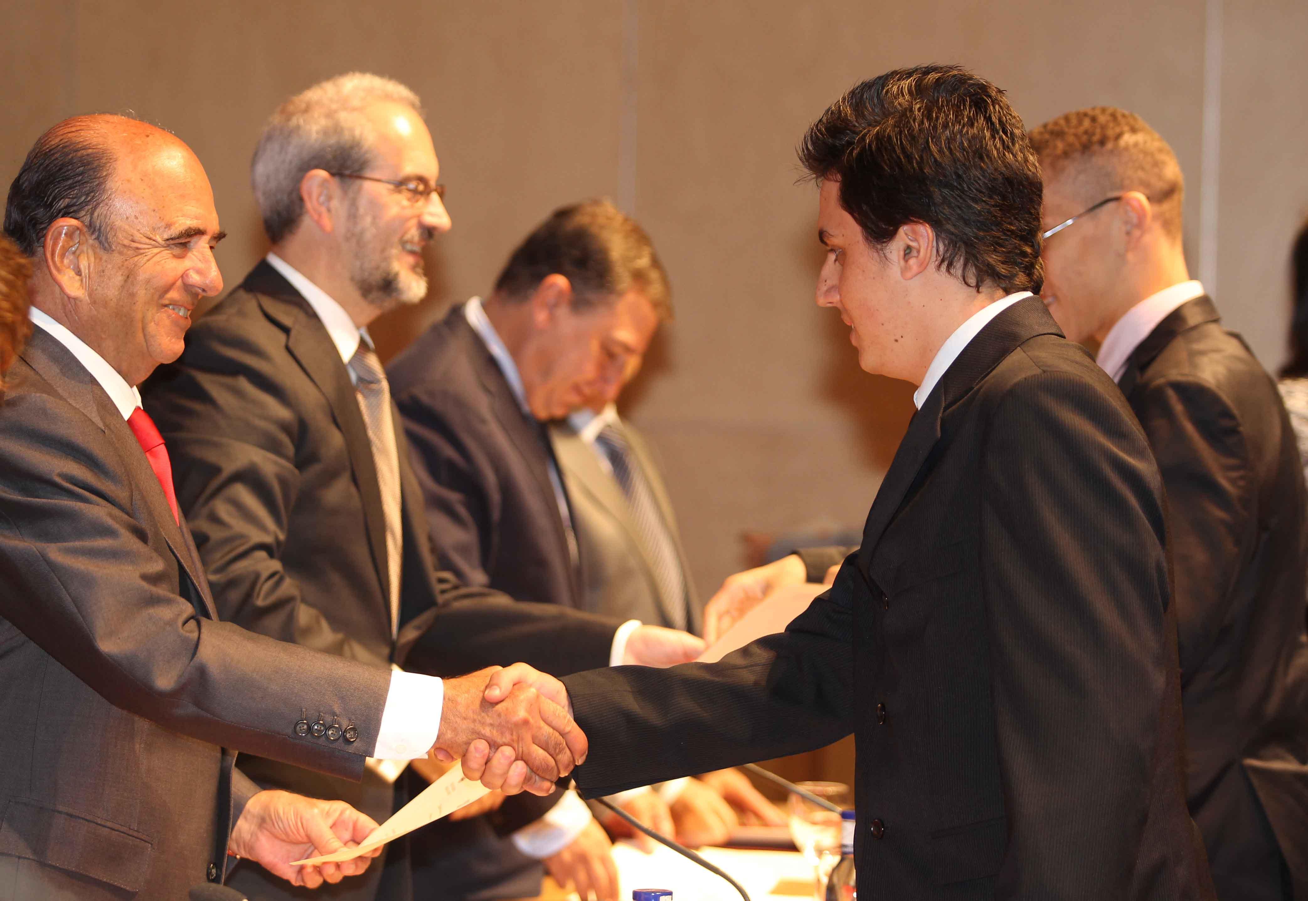 La Hospedería Fonseca acoge la entrega de las Becas Internacionales Universidad de Salamanca - Banco Santander