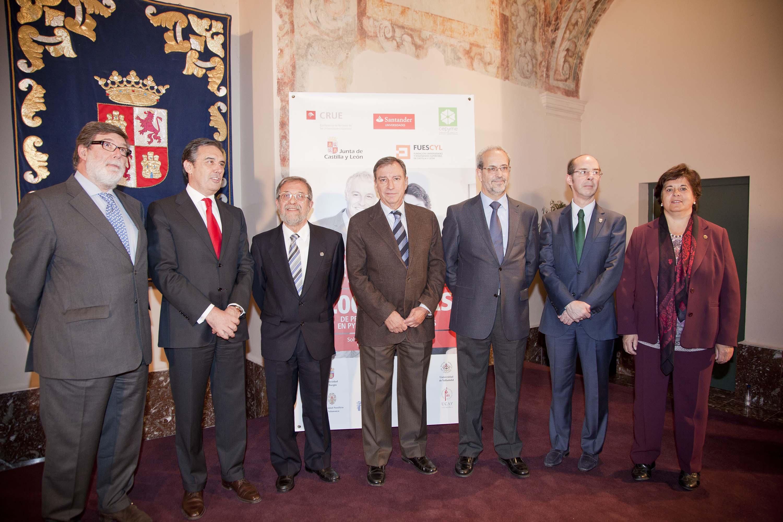 Banco Santander beca a 341 universitarios de Castilla y León para realizar prácticas remuneradas en PYMEs