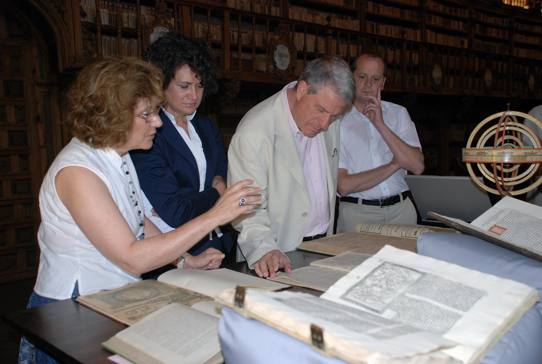 Proyecto conjunto de digitalización de fondos de la Universidad de Salamanca