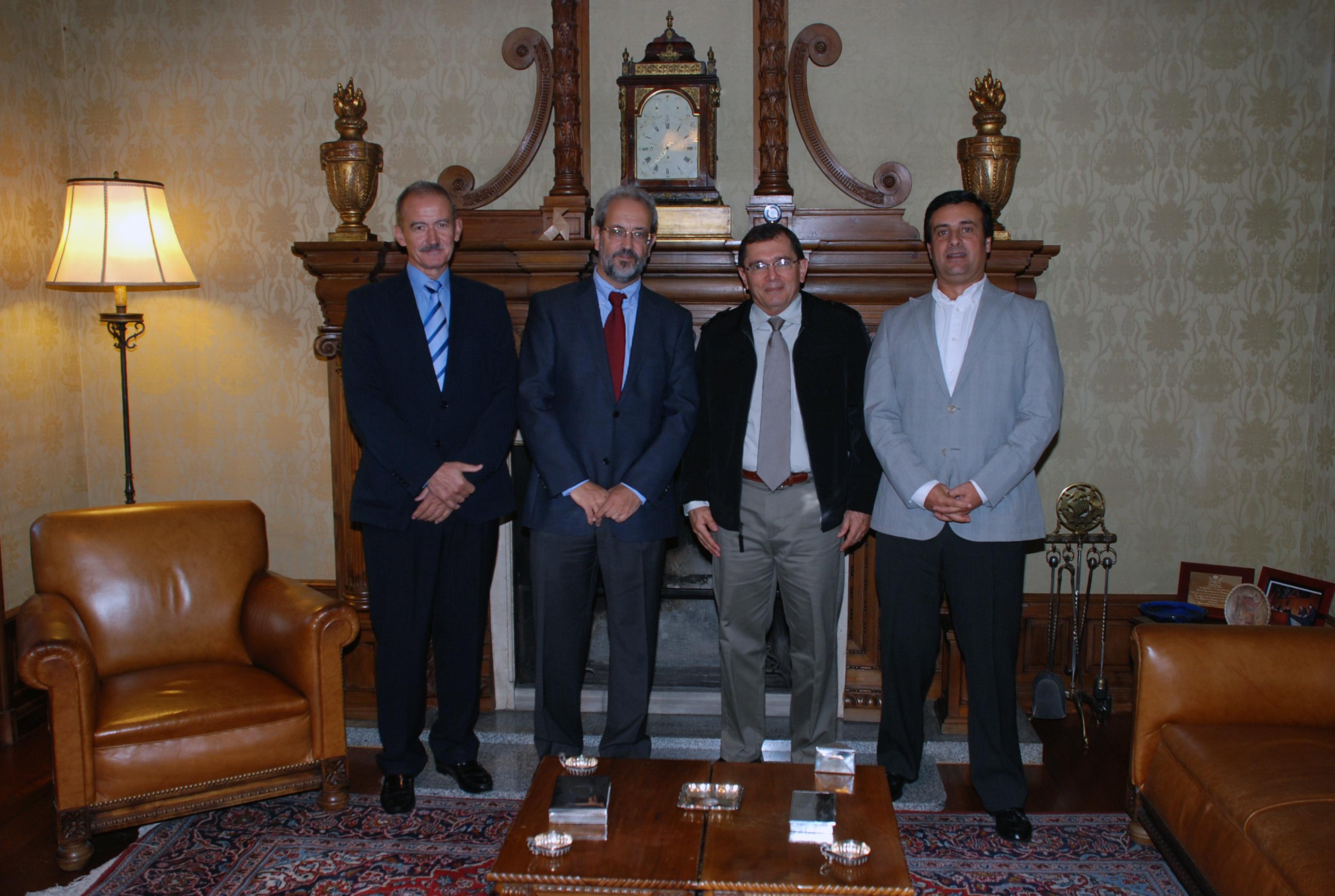 Visita del director general del Instituto Nacional de la Biodiversidad de Costa Rica