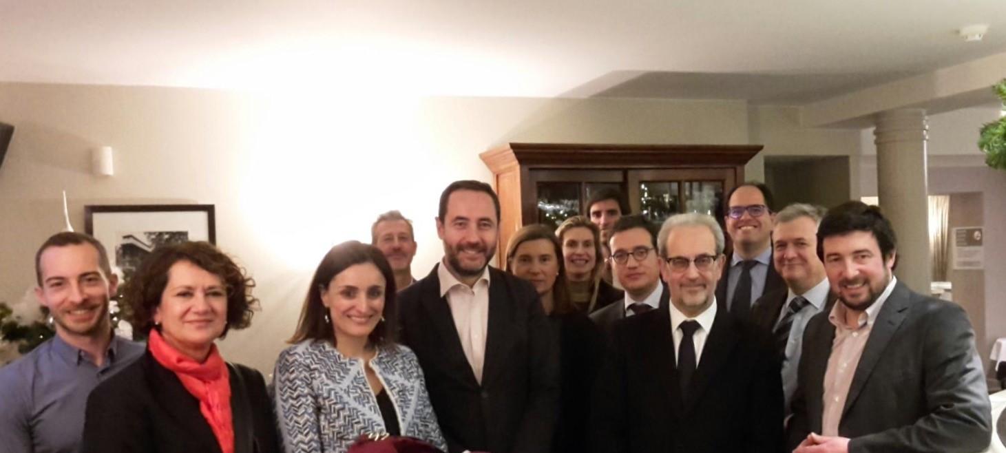 Alumni USAL buscará apoyos en Bruselas para la conmemoración del VIII Centenario de la Universidad de Salamanca
