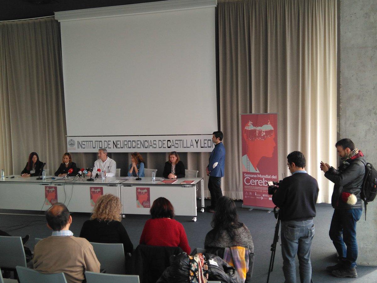 El Instituto de Neurociencias de Castilla y León de la Universidad de Salamanca celebra una nueva edición de la 'Semana Mundial del Cerebro'