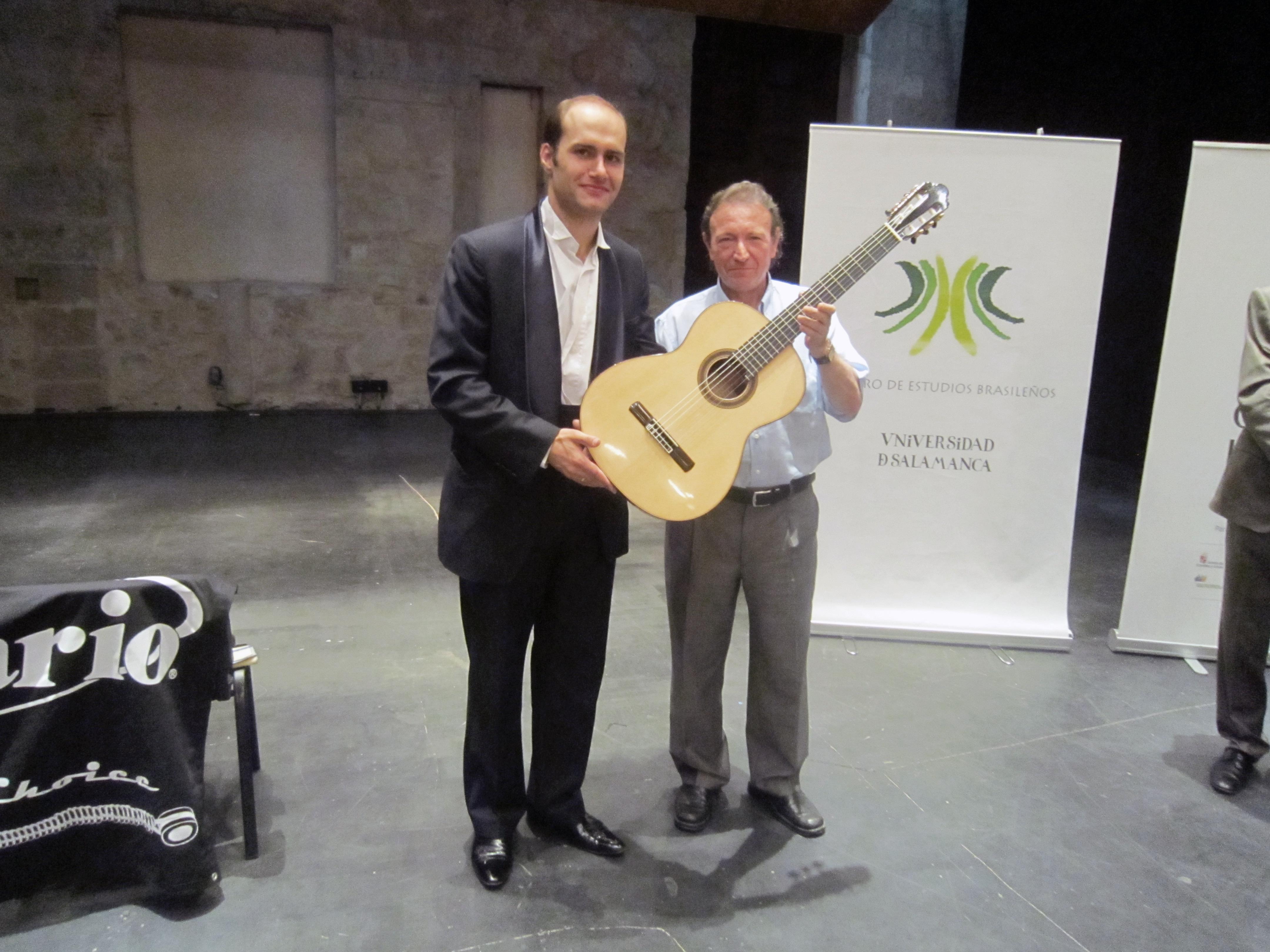 El ruso Rovshan Mamedkuliev se alza con el primer premio del I Concurso Internacional de Guitarra Clásica 'Heitor Villa-Lobos'