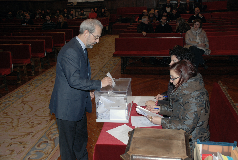El Paraninfo acoge la constitución del nuevo Claustro de la Universidad de Salamanca