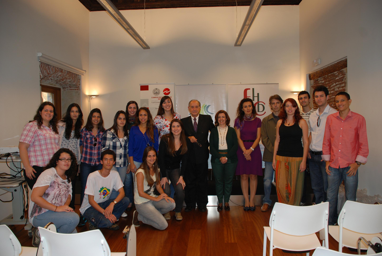 Medio centenar de estudiantes brasileños estudian en la Universidad de Salamanca a través del Programa Ciencia sin Fronteras
