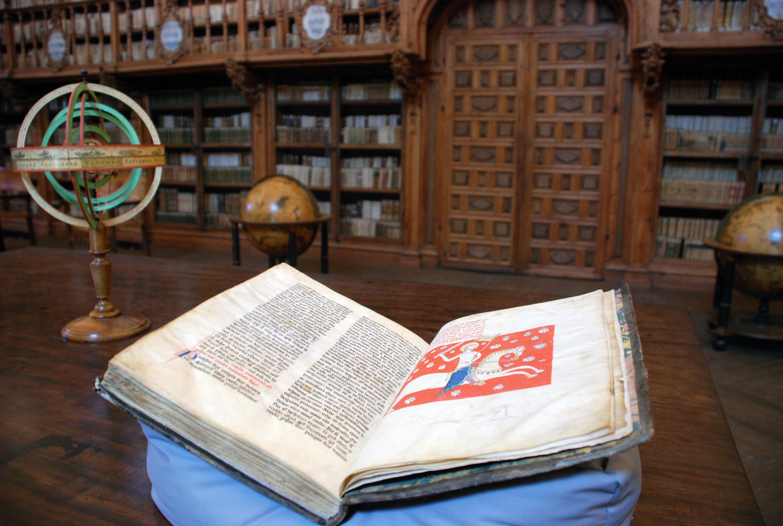 Copia del Códice Calixtino de la Universidad de Salamanca
