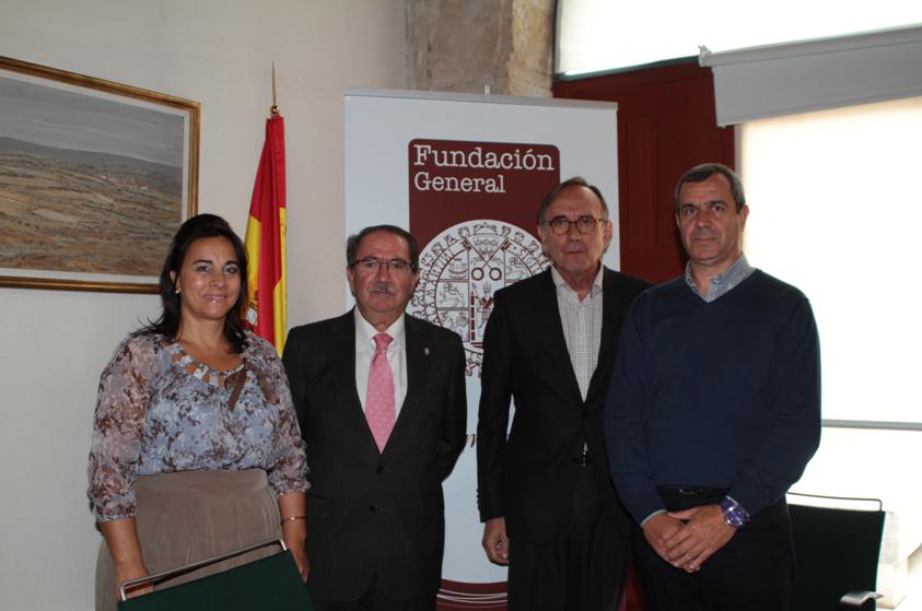 Ampliación del convenio de colaboración entre el Ayuntamiento de Santa Marta y la Fundación General de la Universidad de Salamanca