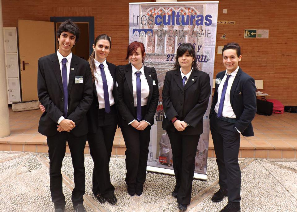 La Universidad de Salamanca consigue el subcampeonato en el III Torneo Nacional de Debate 'Las Tres Culturas'